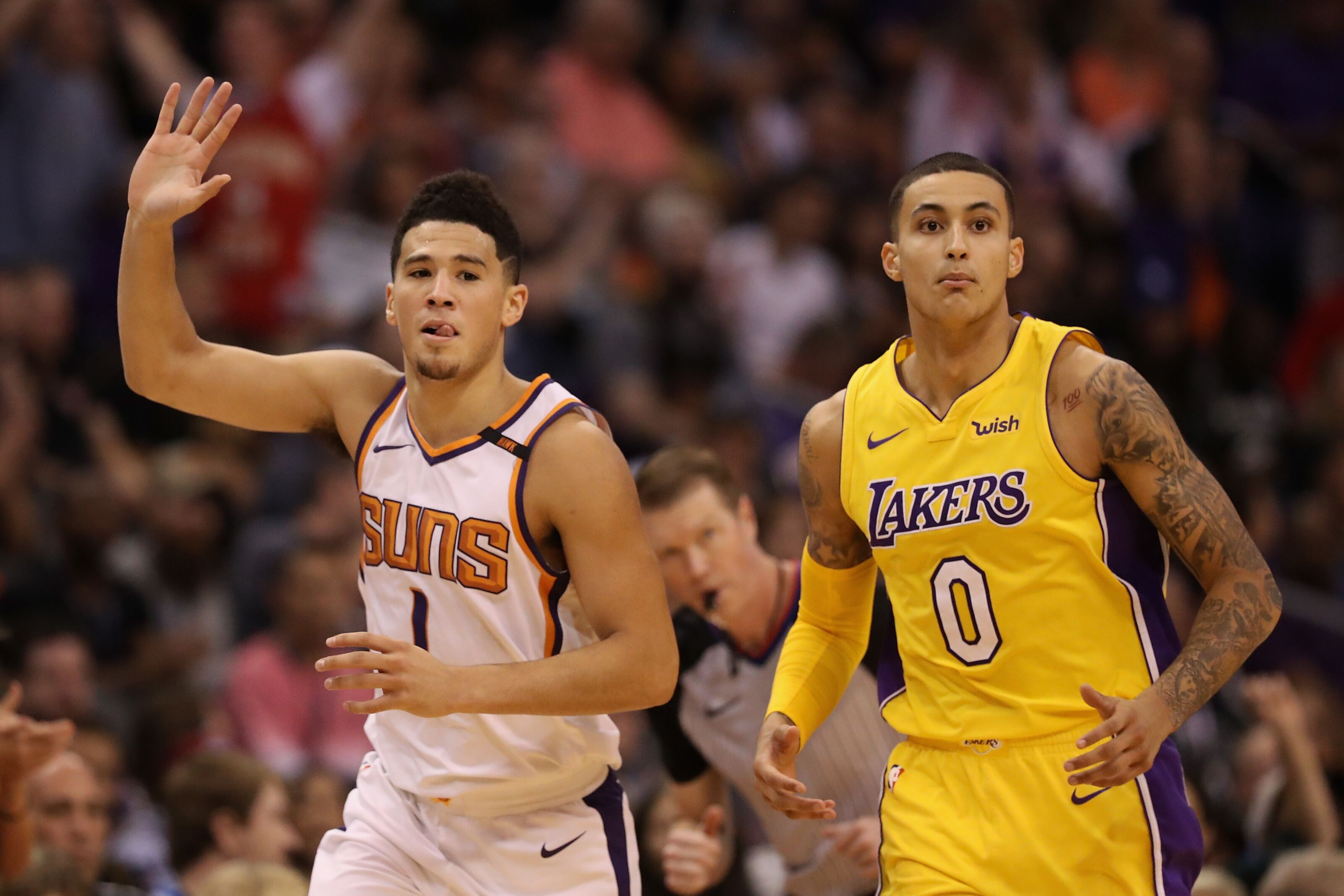 Stephen A. Smith would love to see the Phoenix Suns trade Devin Booker to the Lakers
