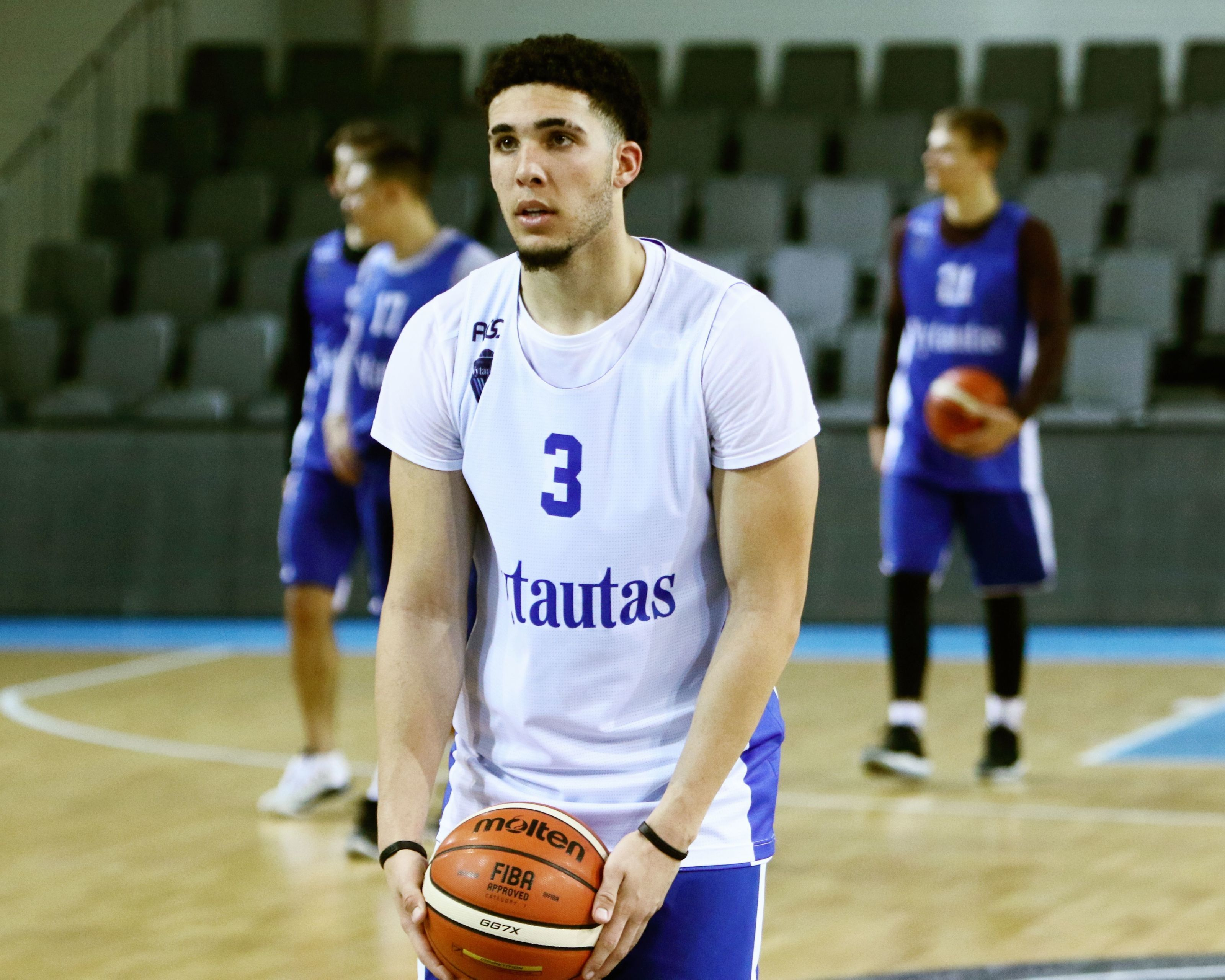 26a2c61670b Phoenix Suns interviewed LiAngelo Ball at pre-draft workout