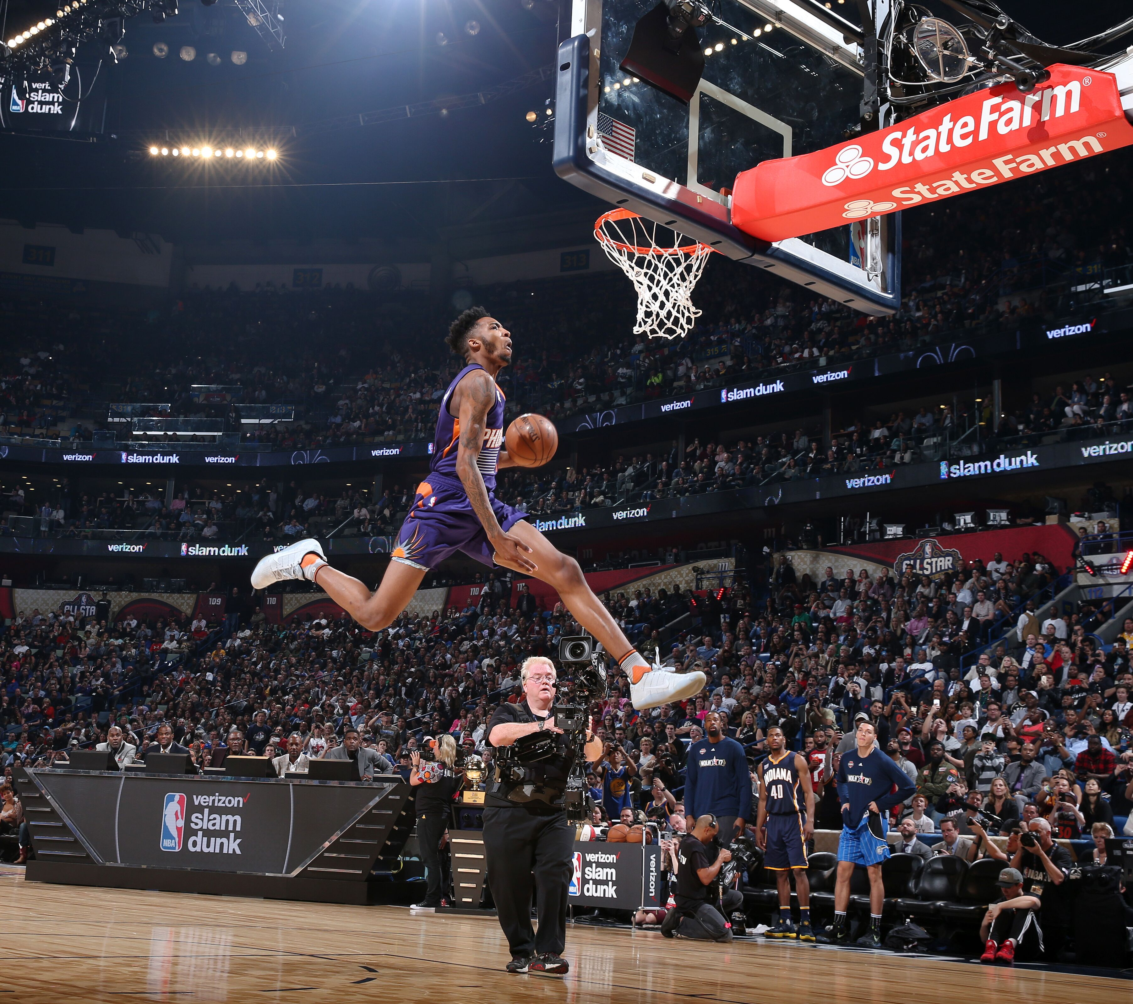 Dunk Contest 2017: Top-five Most Athletic Current Suns
