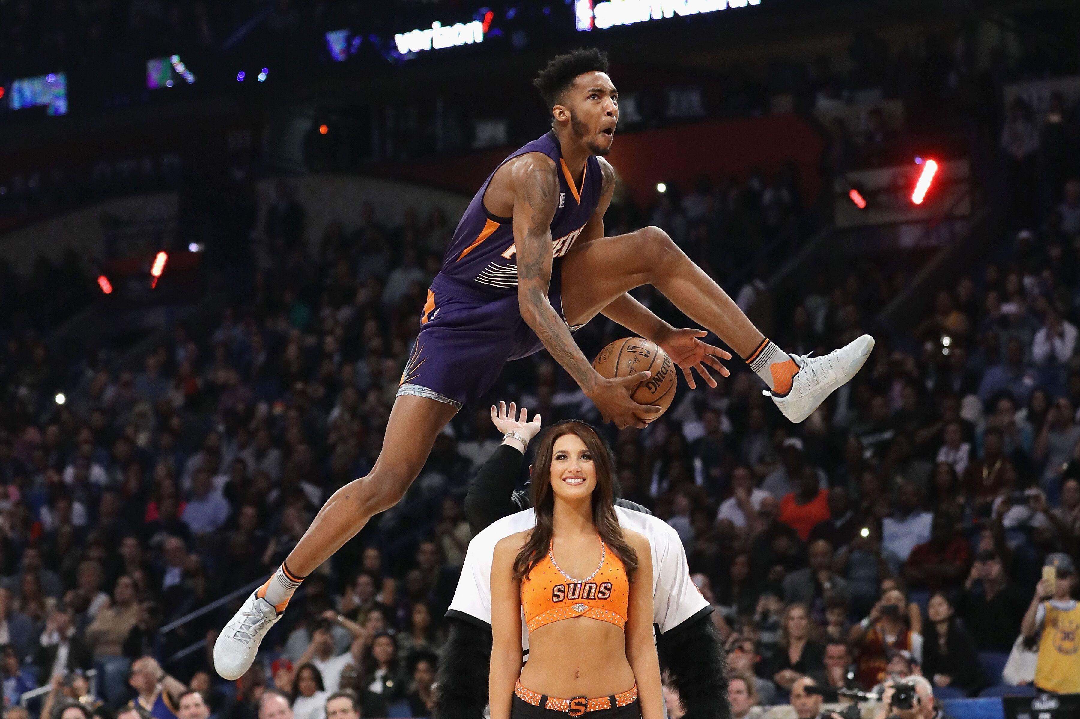 Phoenix Suns Derrick Jones Jr Could Be Slam Dunk Champion