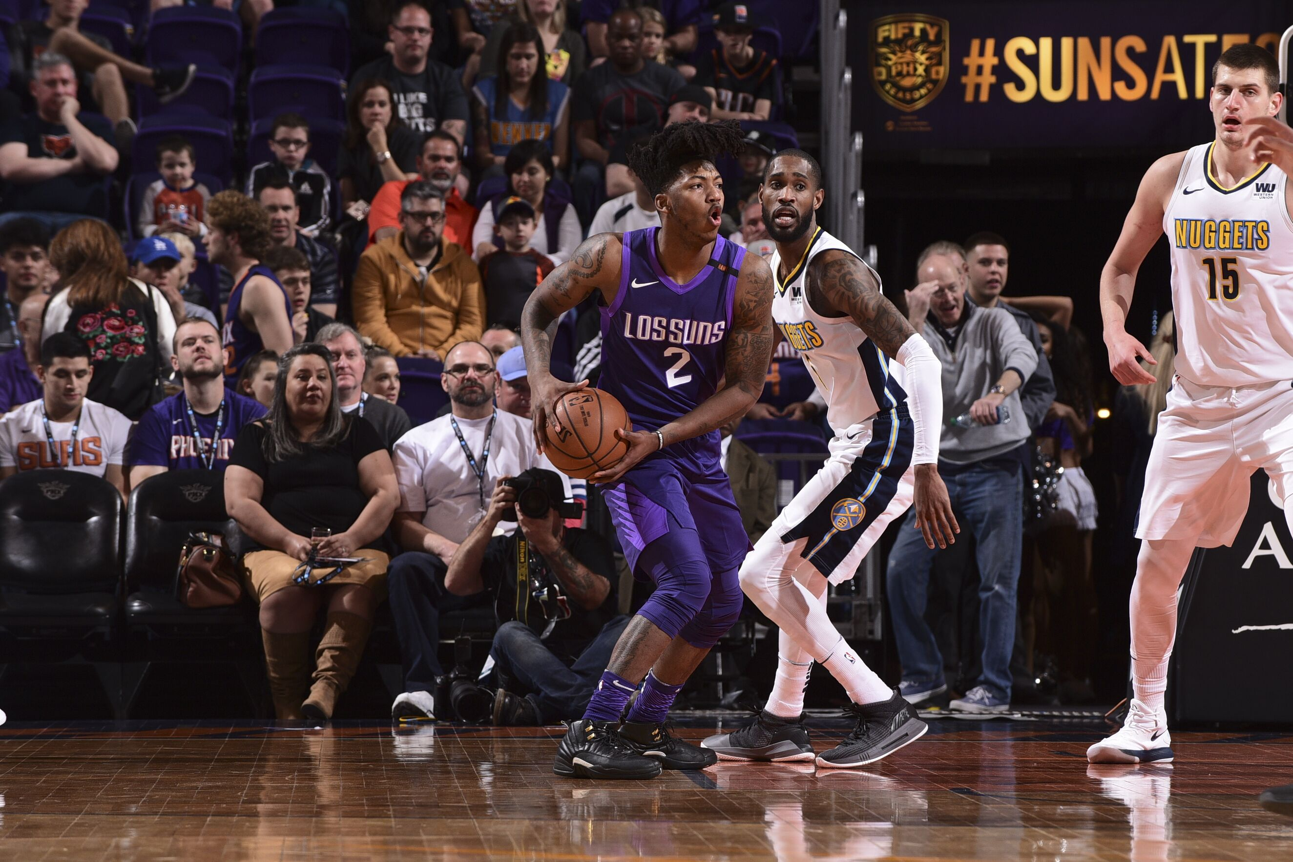 sale retailer e129a b7a1c Elfrid Payton impresses in Suns debut - Valley of the Suns