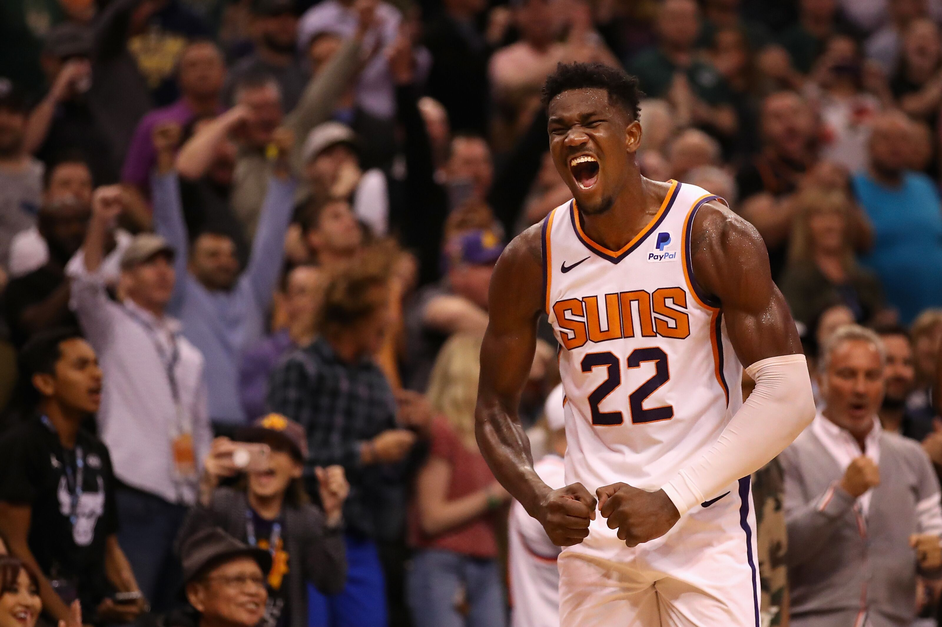 How the Phoenix Suns should use Ayton on defenseSuns