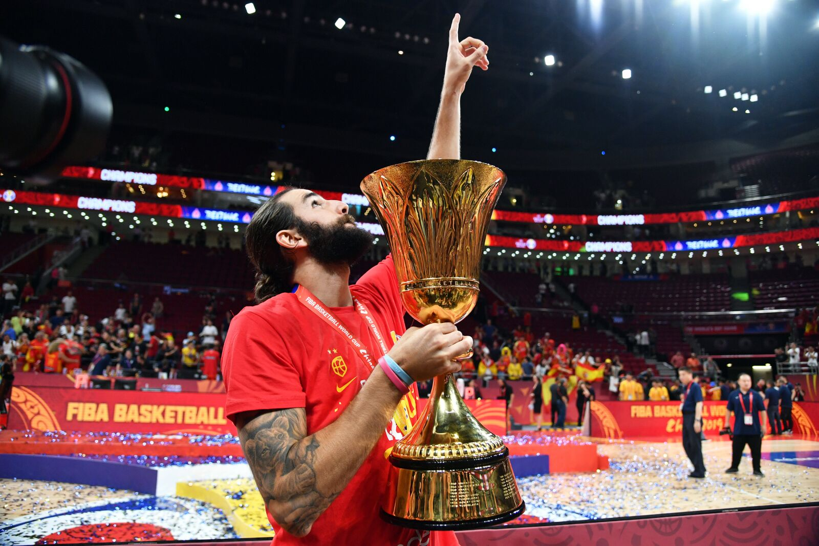 Phoenix Suns newcomer, Ricky Rubio, lives every day for his mom