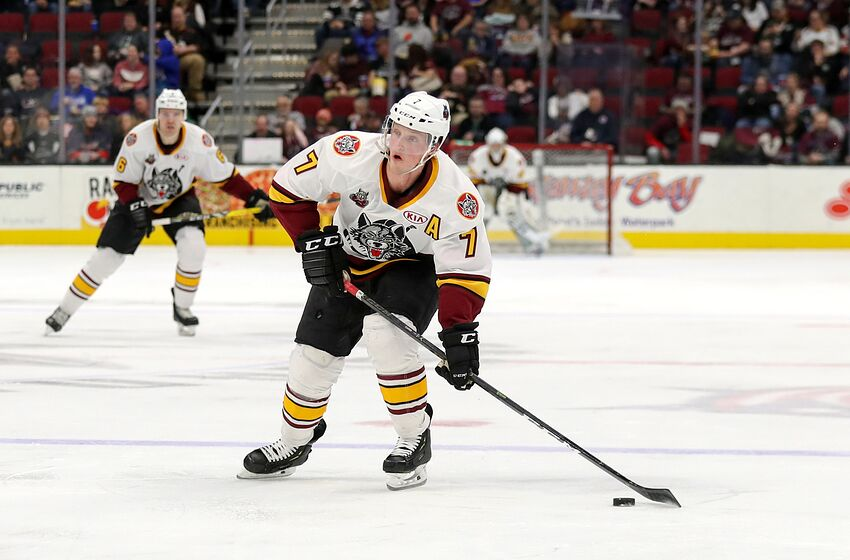 Vegas Golden Knights Chicago Wolves Playoff Run Vital For Young Guns
