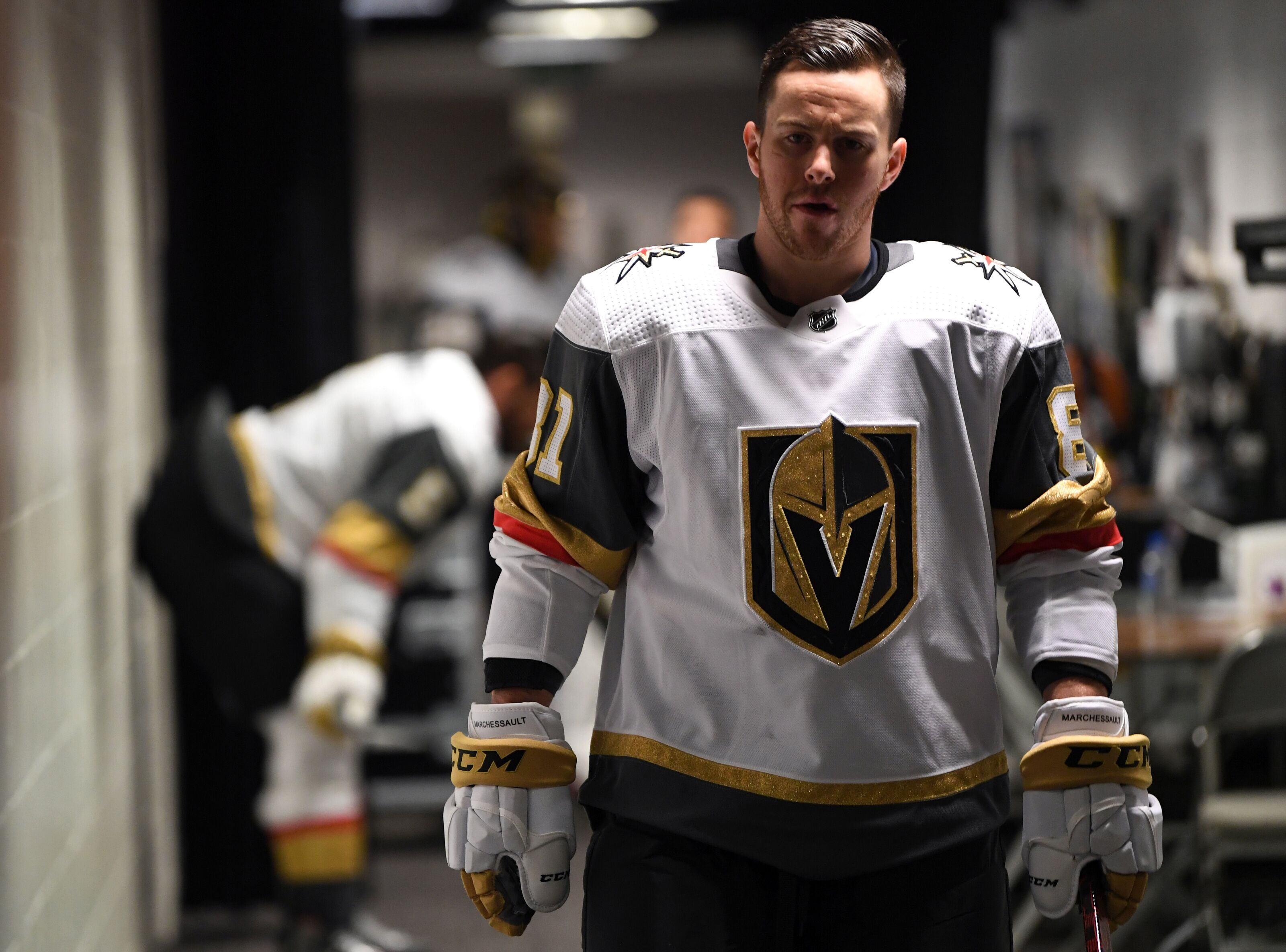 Jonathan Marchessault representing Vegas Golden Knights at