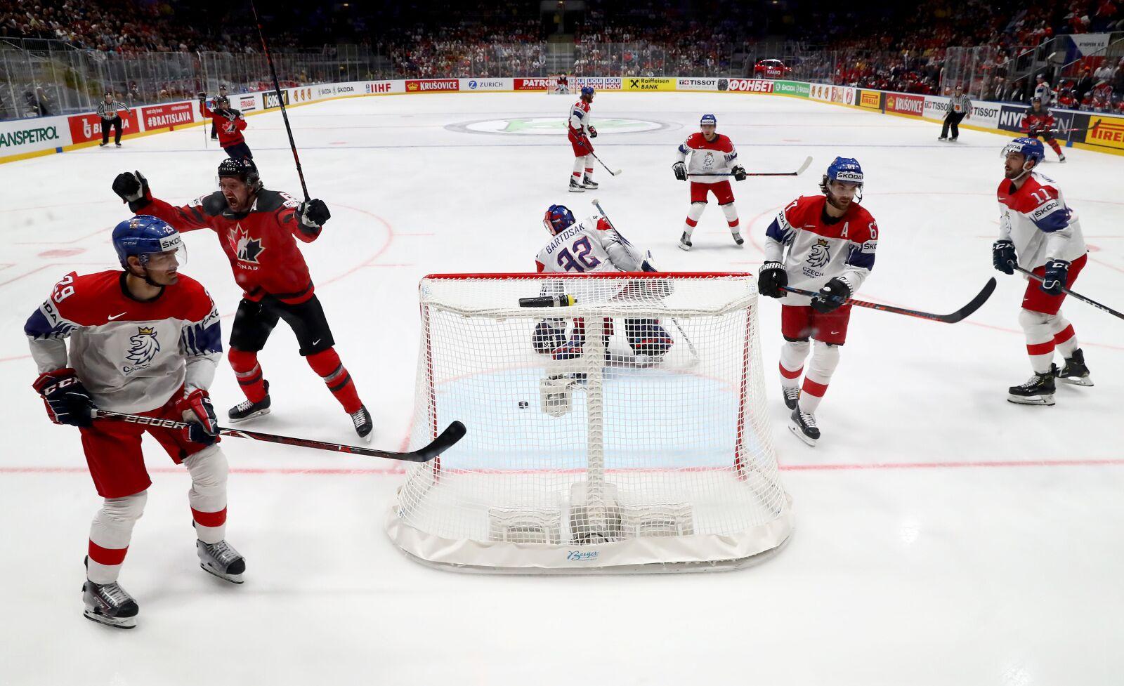 Vegas Golden Knights: Stone fires Team Canada to IIHF World Finals
