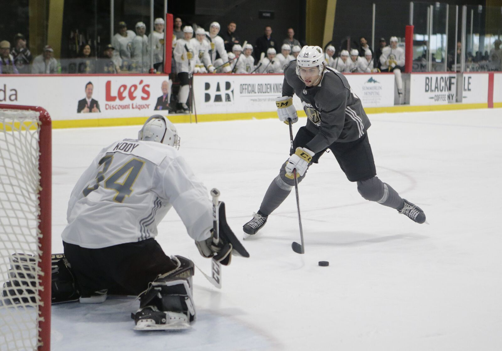 Vegas Golden Knights: Nic Hague on a mission heading into training camp