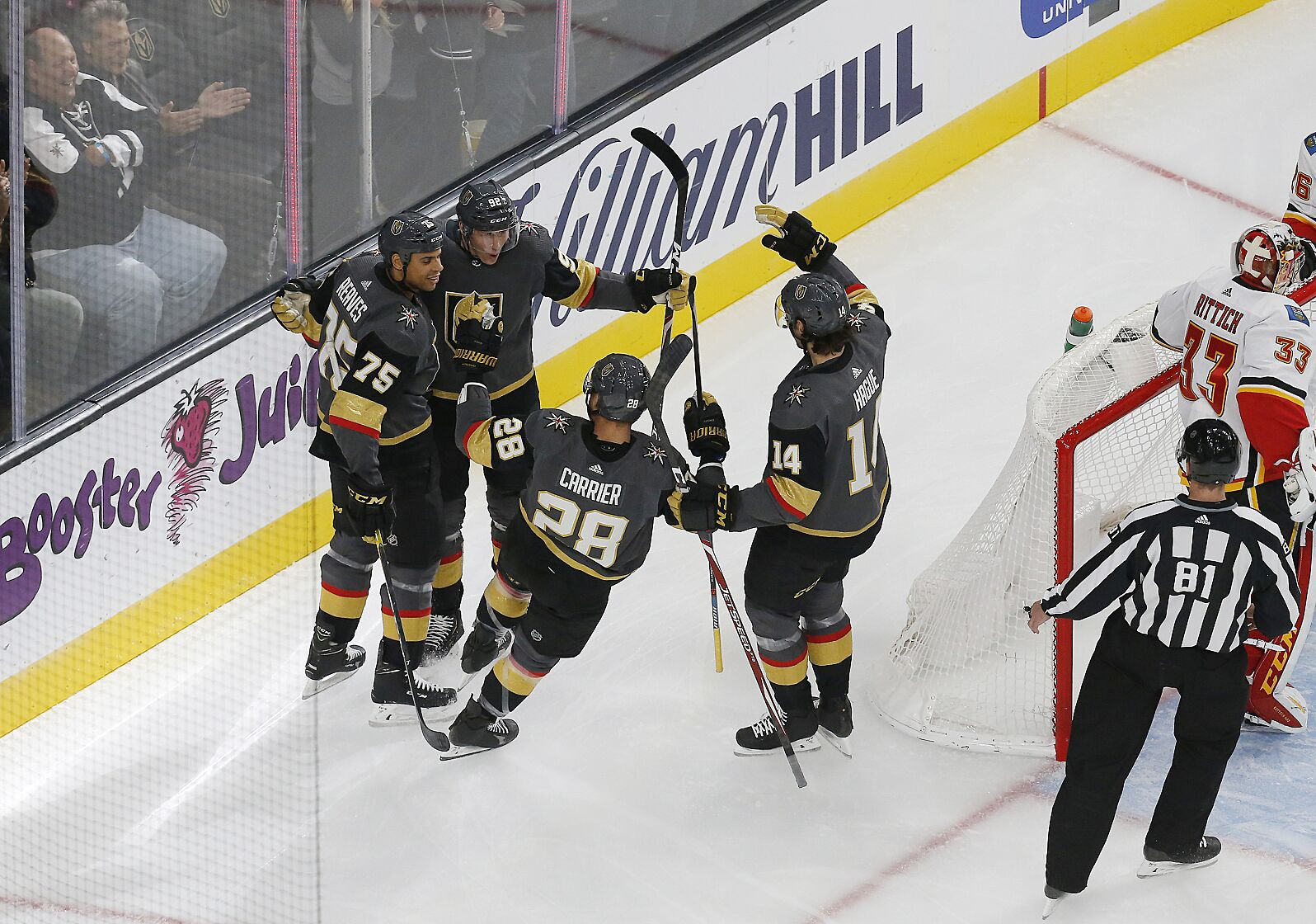 Vegas Golden Knights: Secondary scoring emerges in rout of Flames