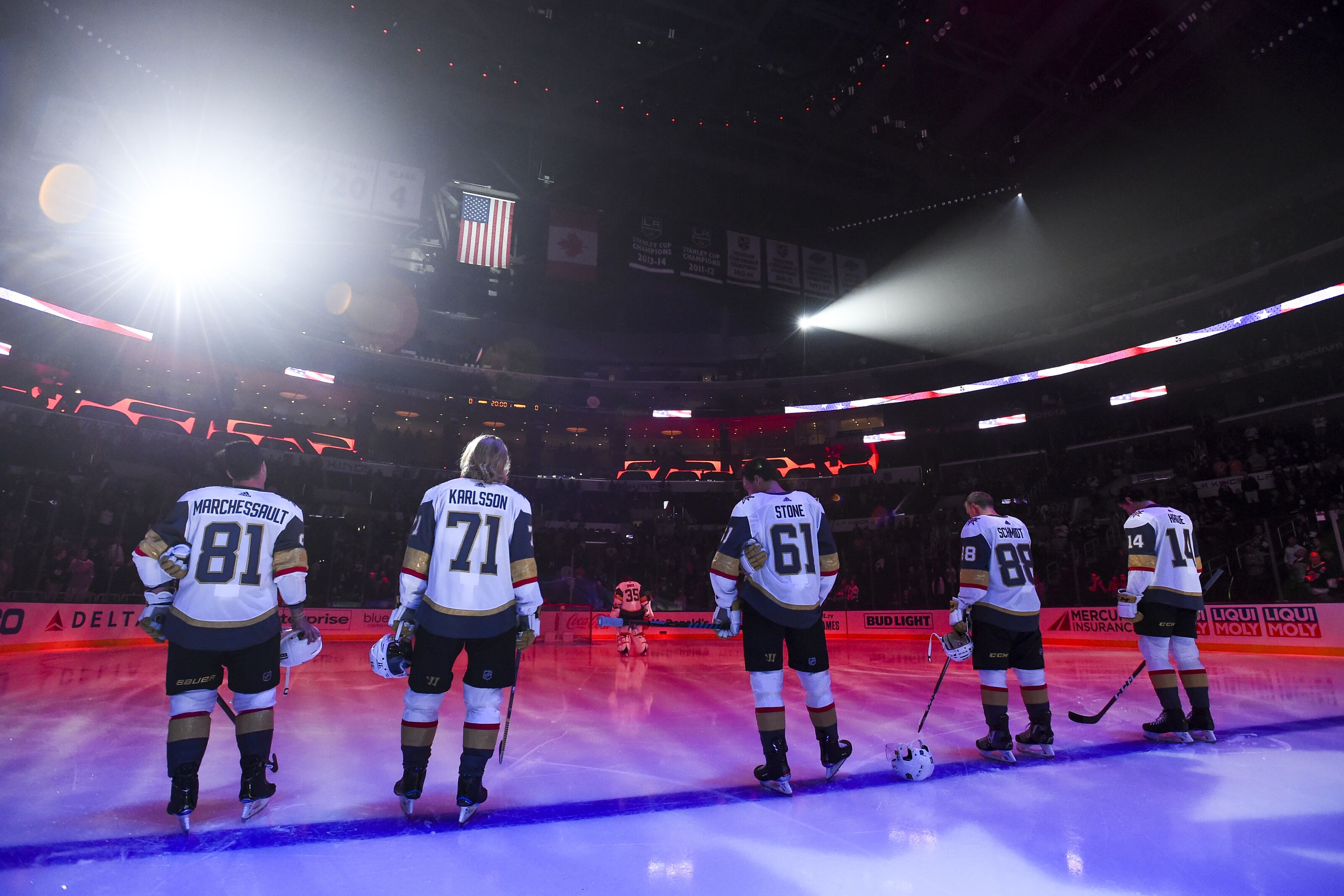 Vegas Golden Knights: Karlsson, Theodore back in the mix at practice