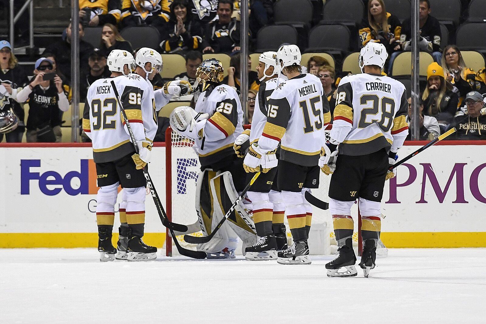 Vegas Golden Knights: Three Takeaways from Penguins shutout