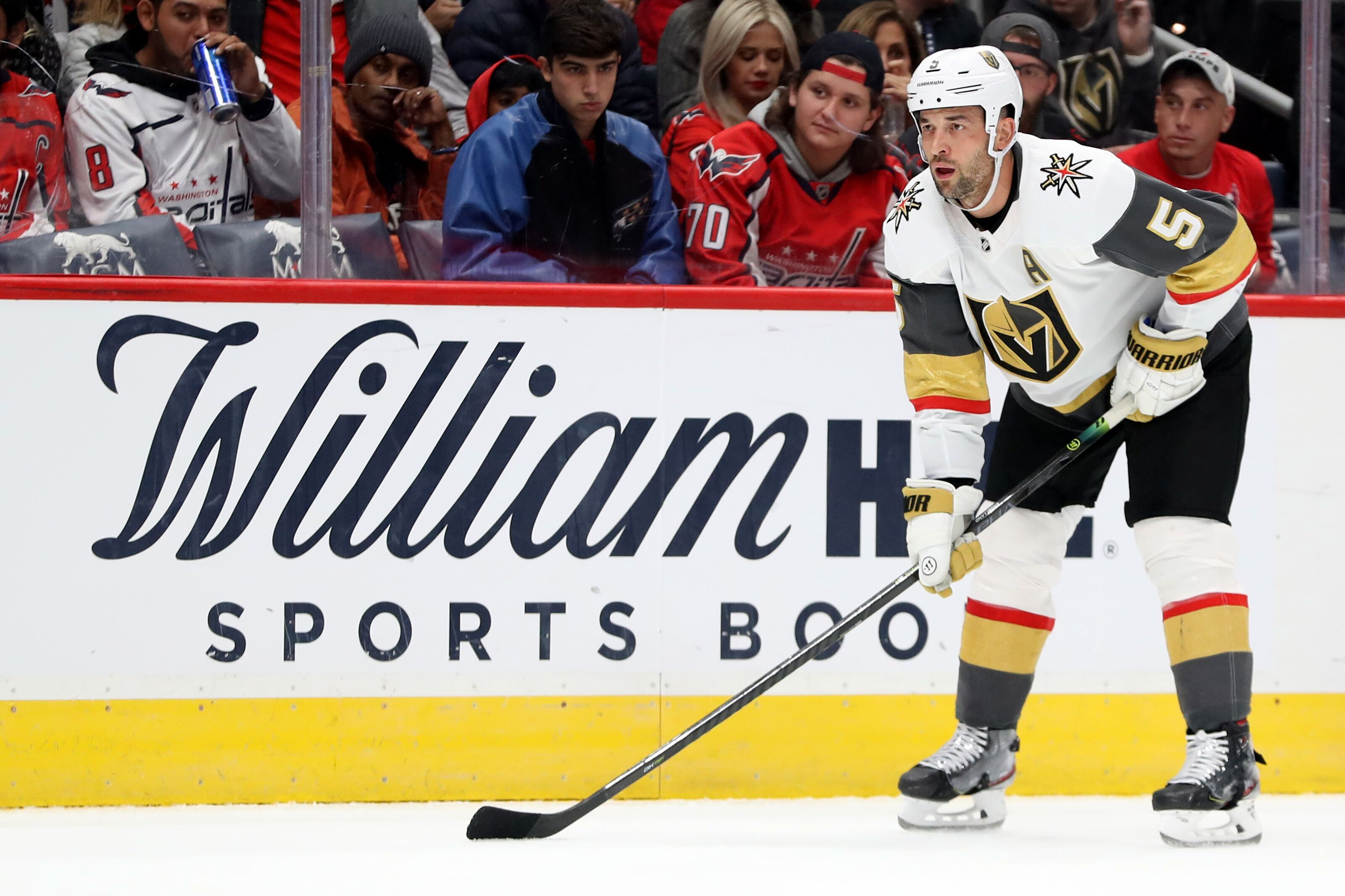 Vegas Golden Knights: This year should be Engelland's last