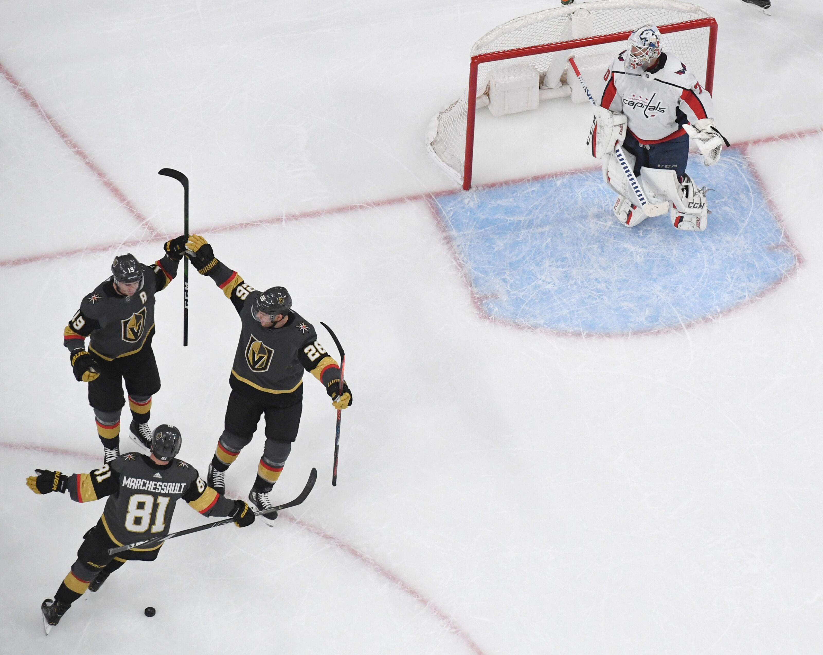 Vegas Golden Knights delivering when it matters most