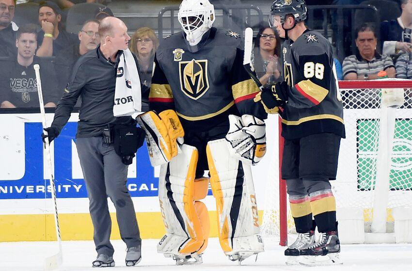 Vegas Golden Knights Goaltender Malcolm Subban Injured In Win Over