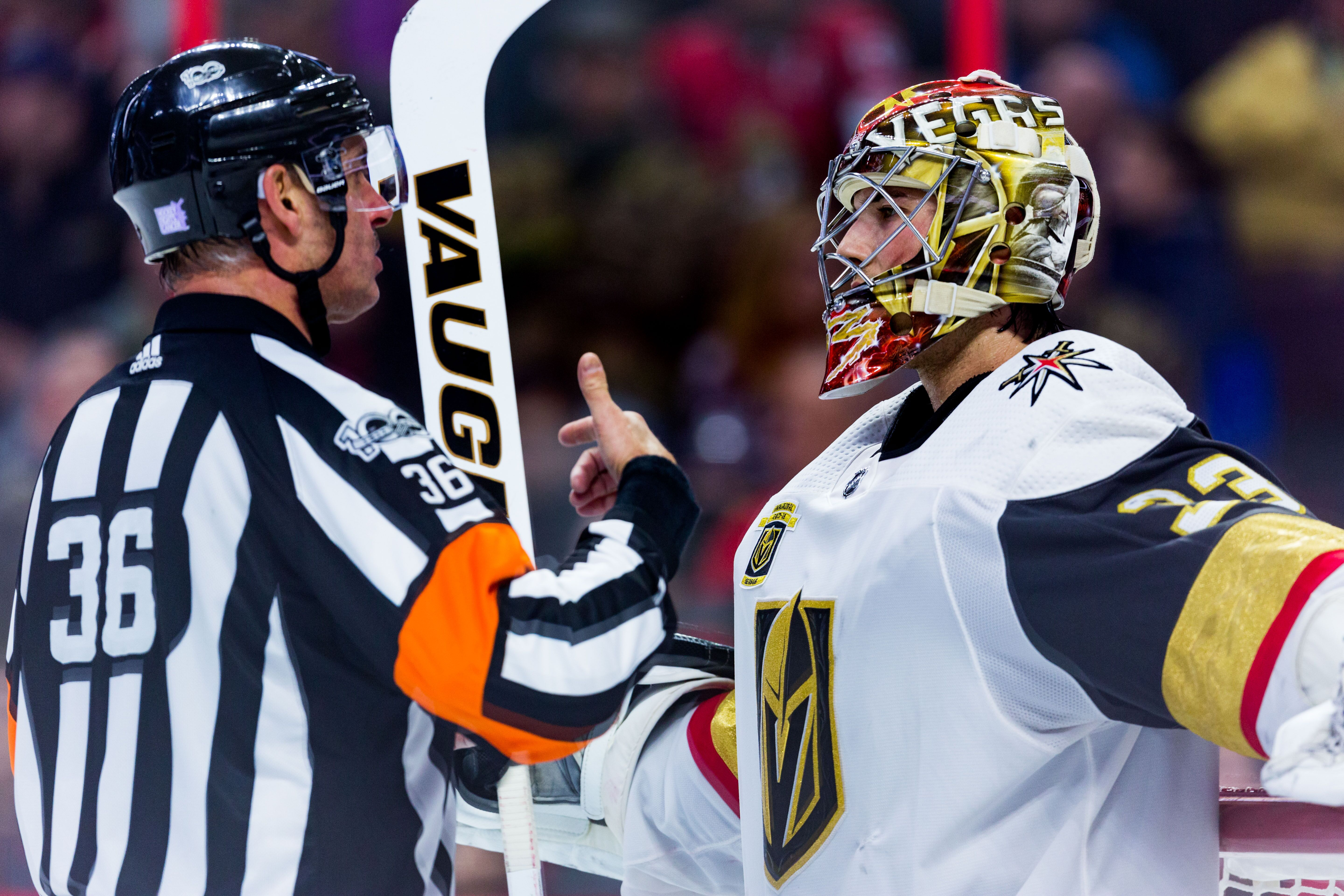 Vegas Golden Knights Goalie Injuries Are A Major Concern