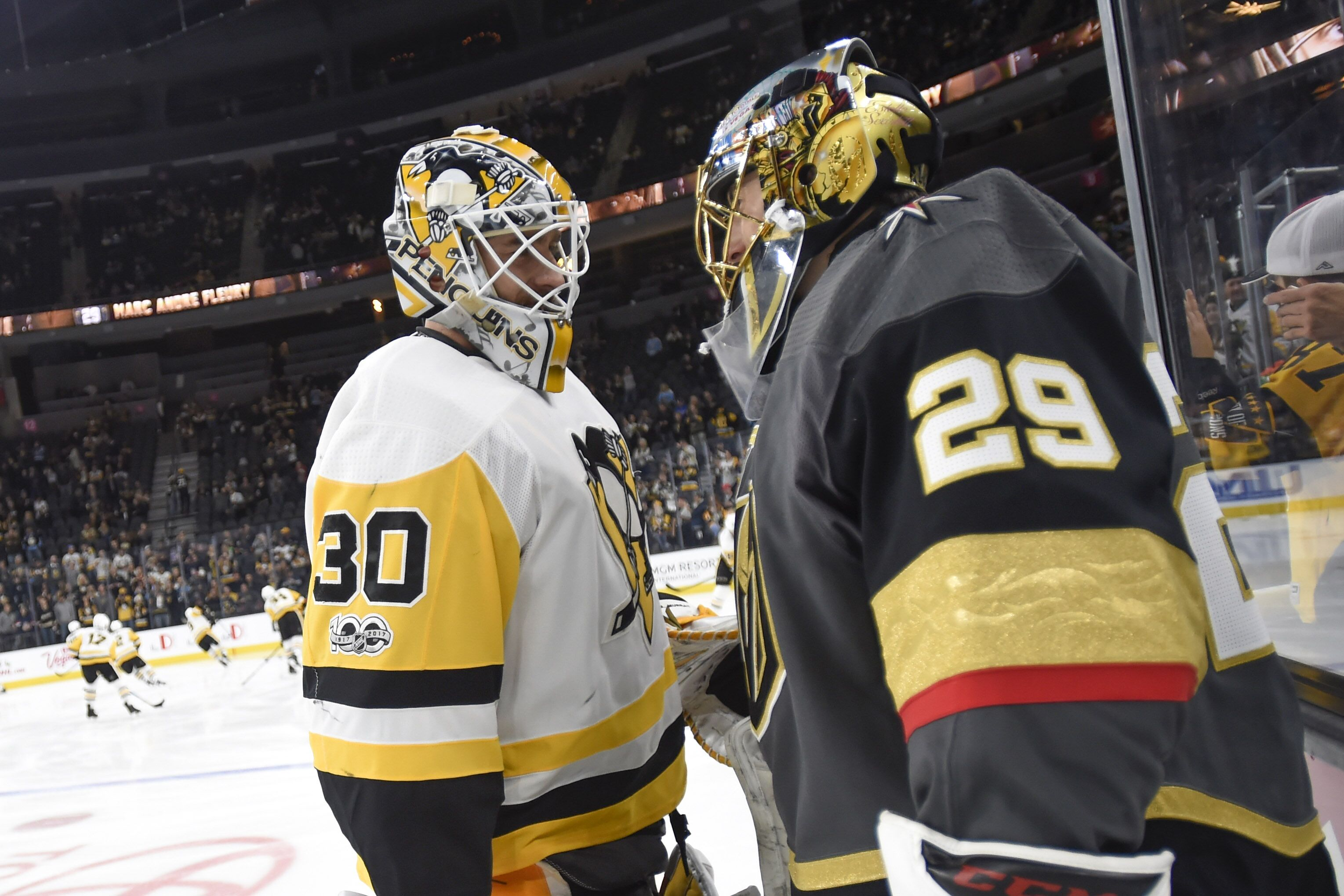 Vegas Golden Knights: Marc-Andre Fleury Outduels Matt Murray