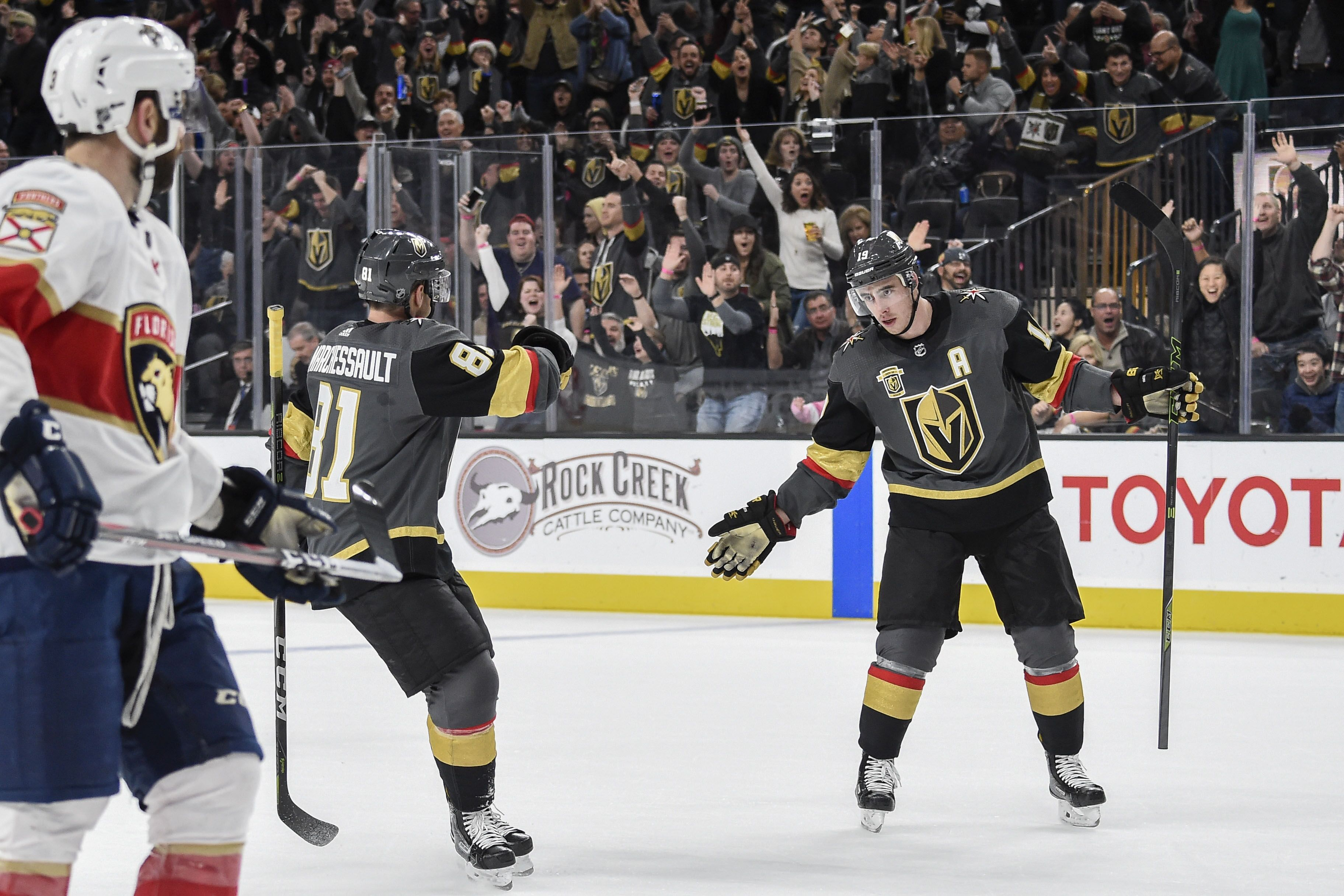 Vegas Golden Knights  Jonathan Marchessault And Reilly Smith Sink Former  Team fa7171963