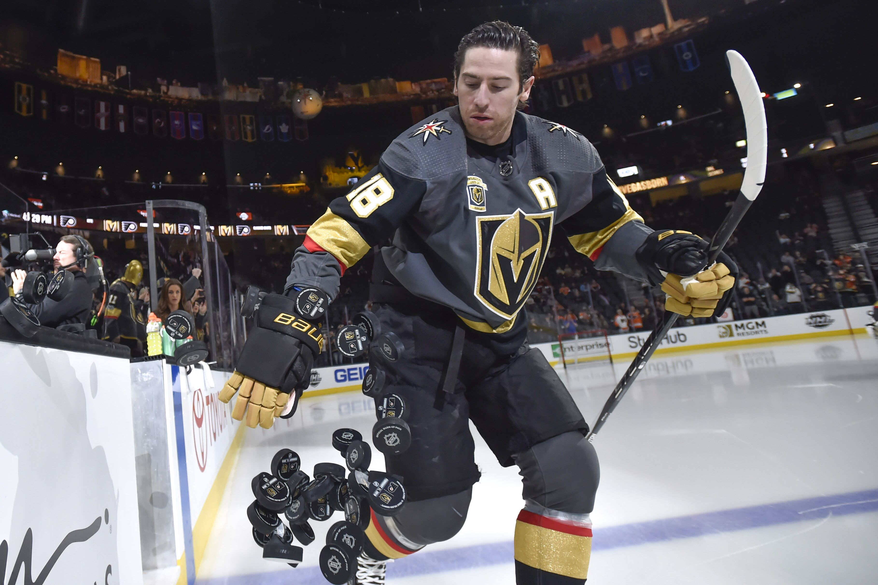 761bfc5fa39 Vegas Golden Knights Reportedly Shopping James Neal?
