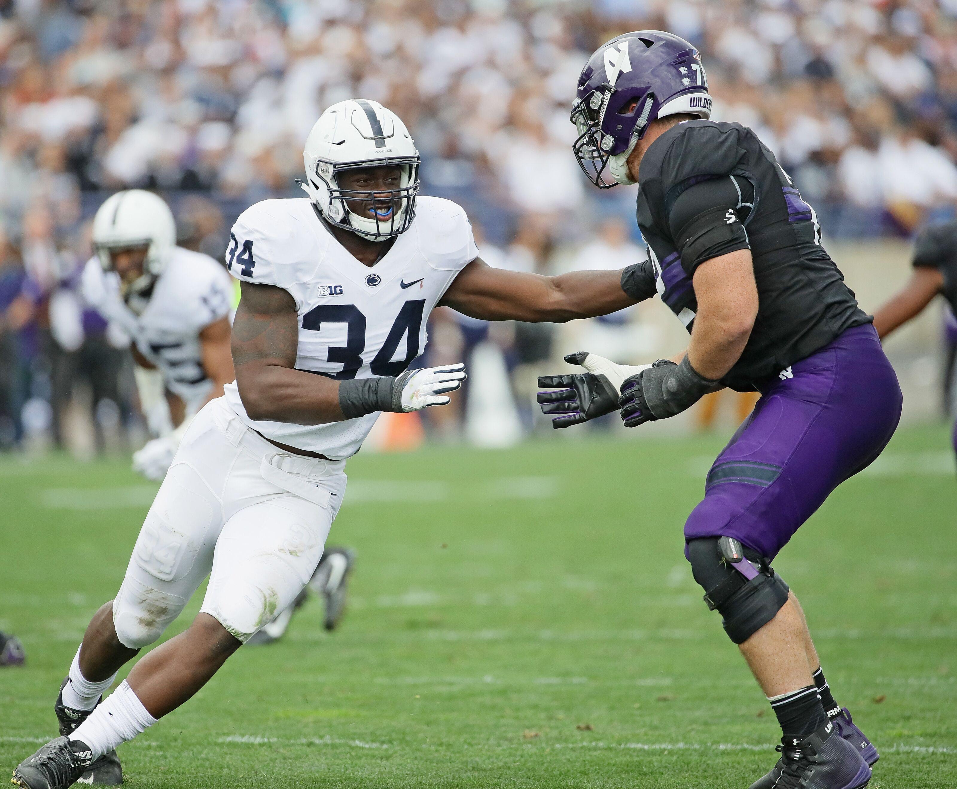 Penn State Football 2019 Breakout Candidate: DE Shane Simmons