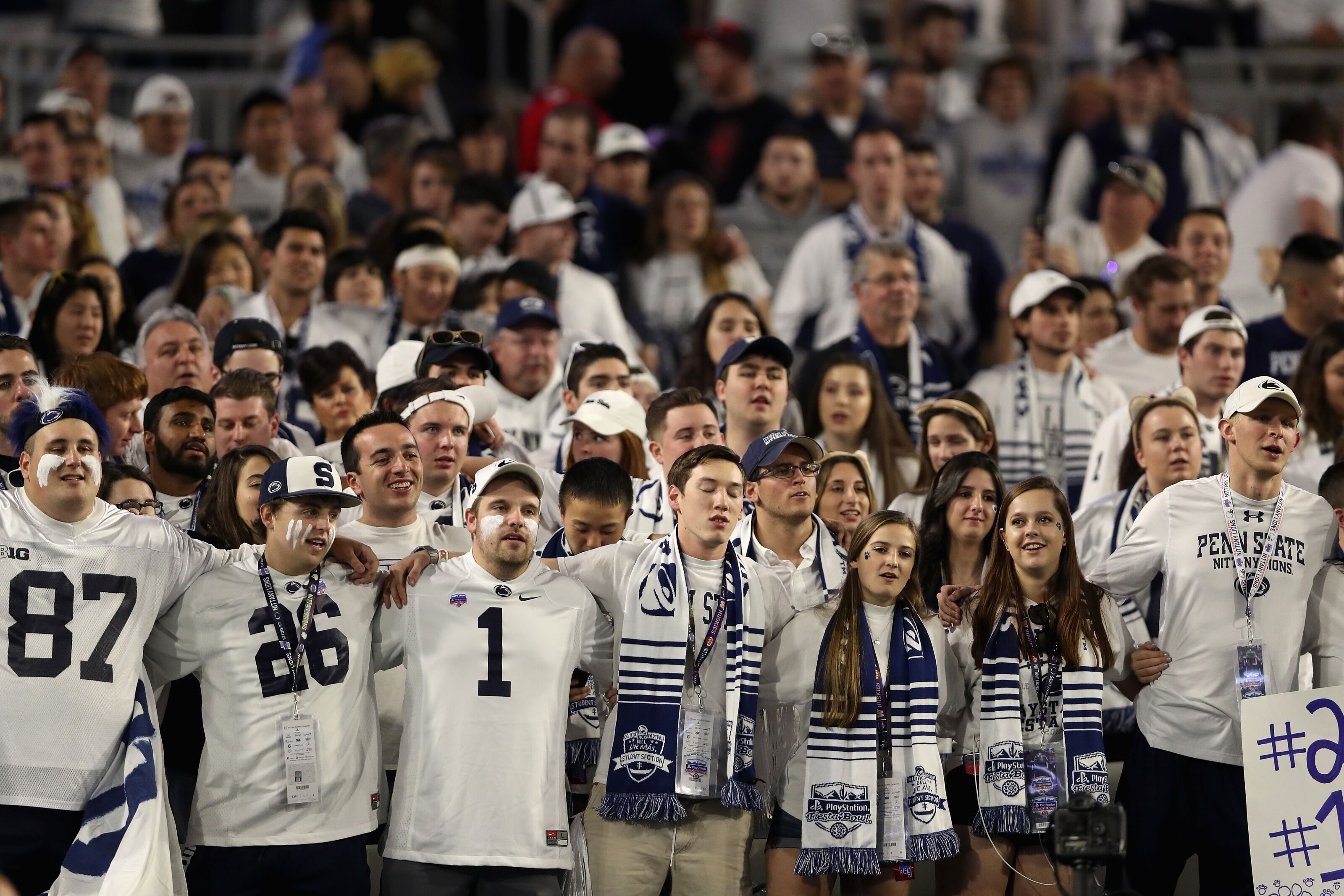Penn State Nittany Lions ranked as Nation's best in home attendance survey