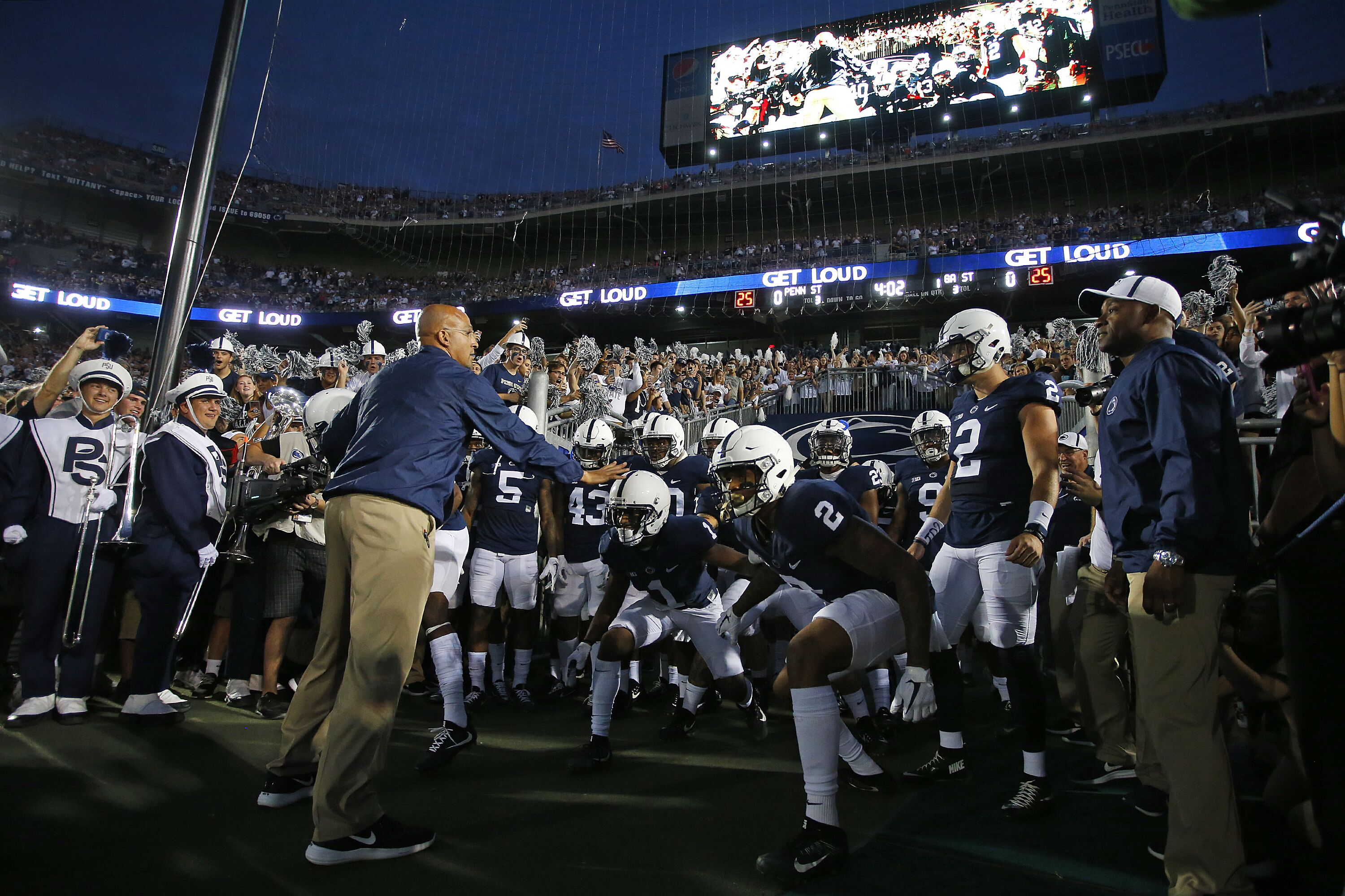 Penn State football confident they will land 30 players for
