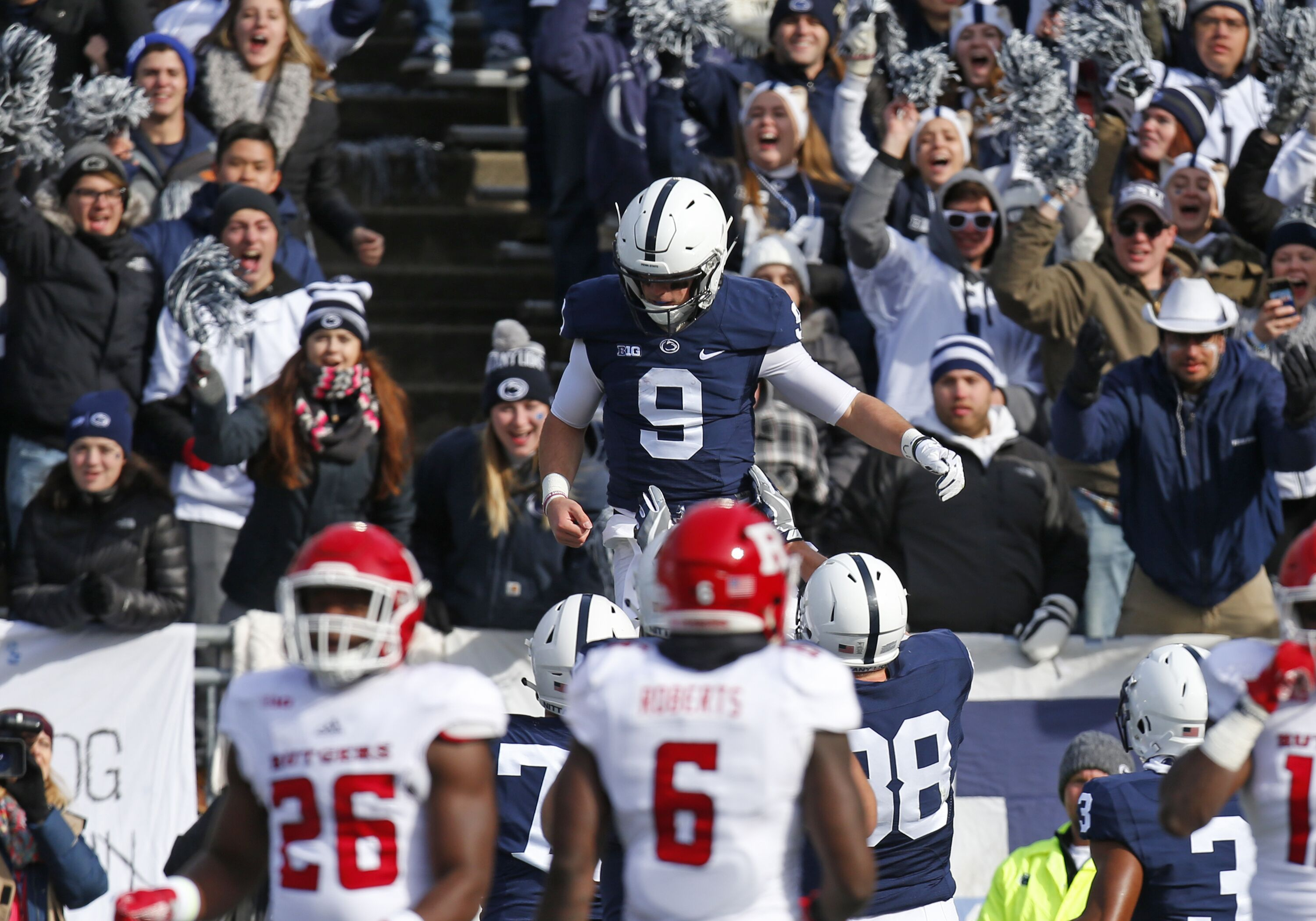 Penn State at Rutgers: Announcers, television coverage, live stream