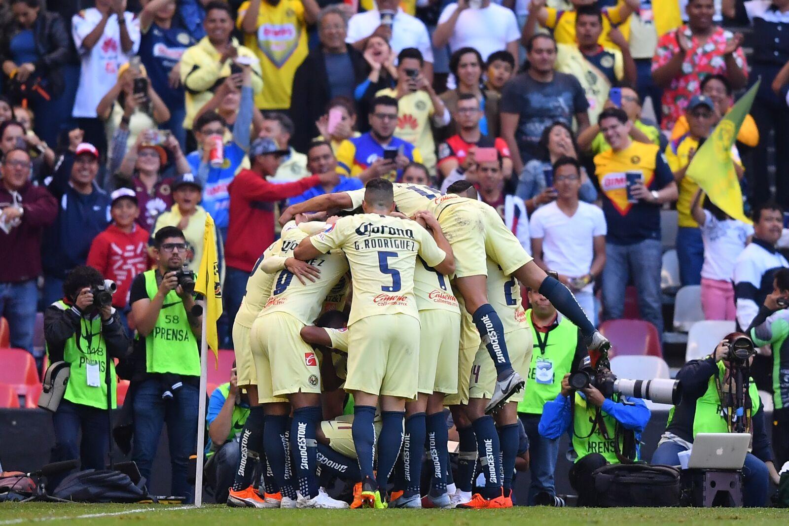 c8e3132553a Liga MX: America is the new favorite for the 2018 Apertura title - Viva  Liga MX