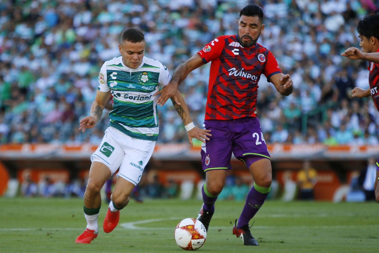 Liga MX: Santos Laguna misses Vazquez; draws Veracruz