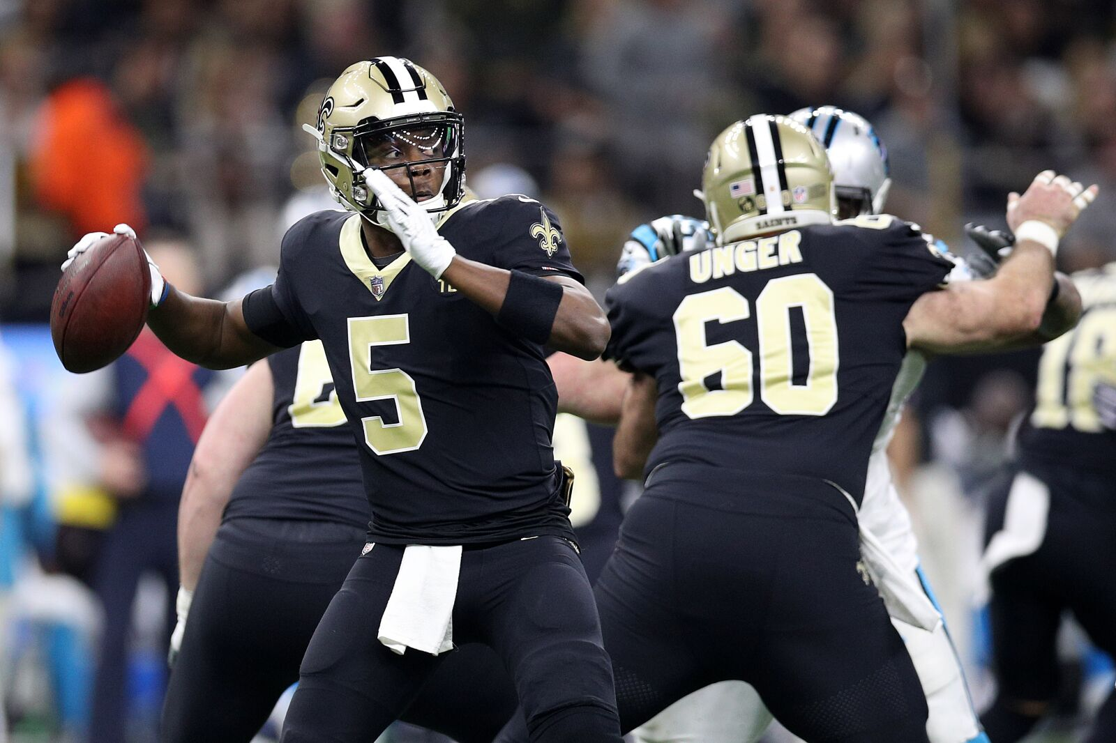 premium selection 9f022 ddbaa New Orleans Saints: In defense of Teddy Bridgewater