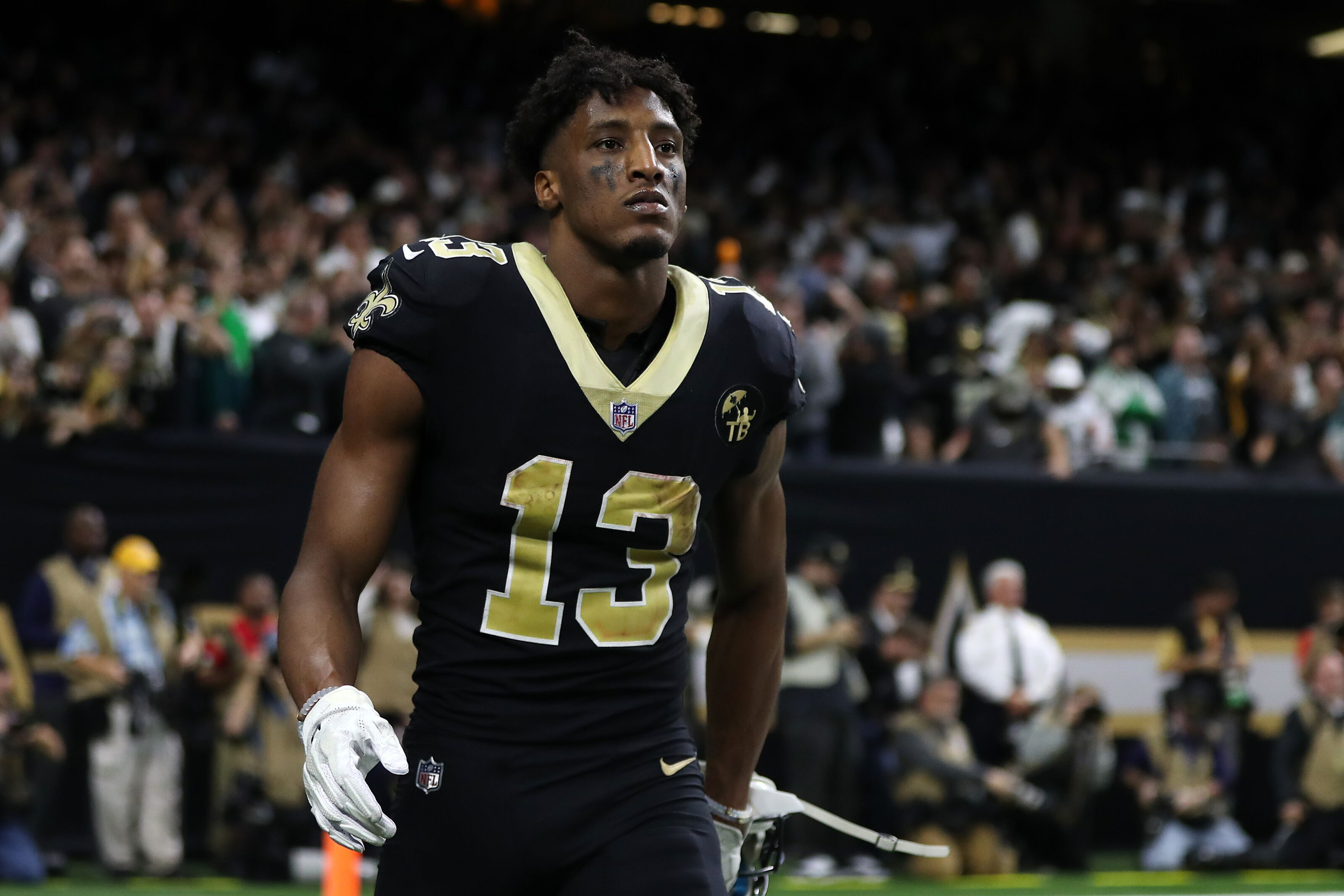 pretty nice 5b456 166ca Michael Thomas' contract with Saints is $100 million, deal ...