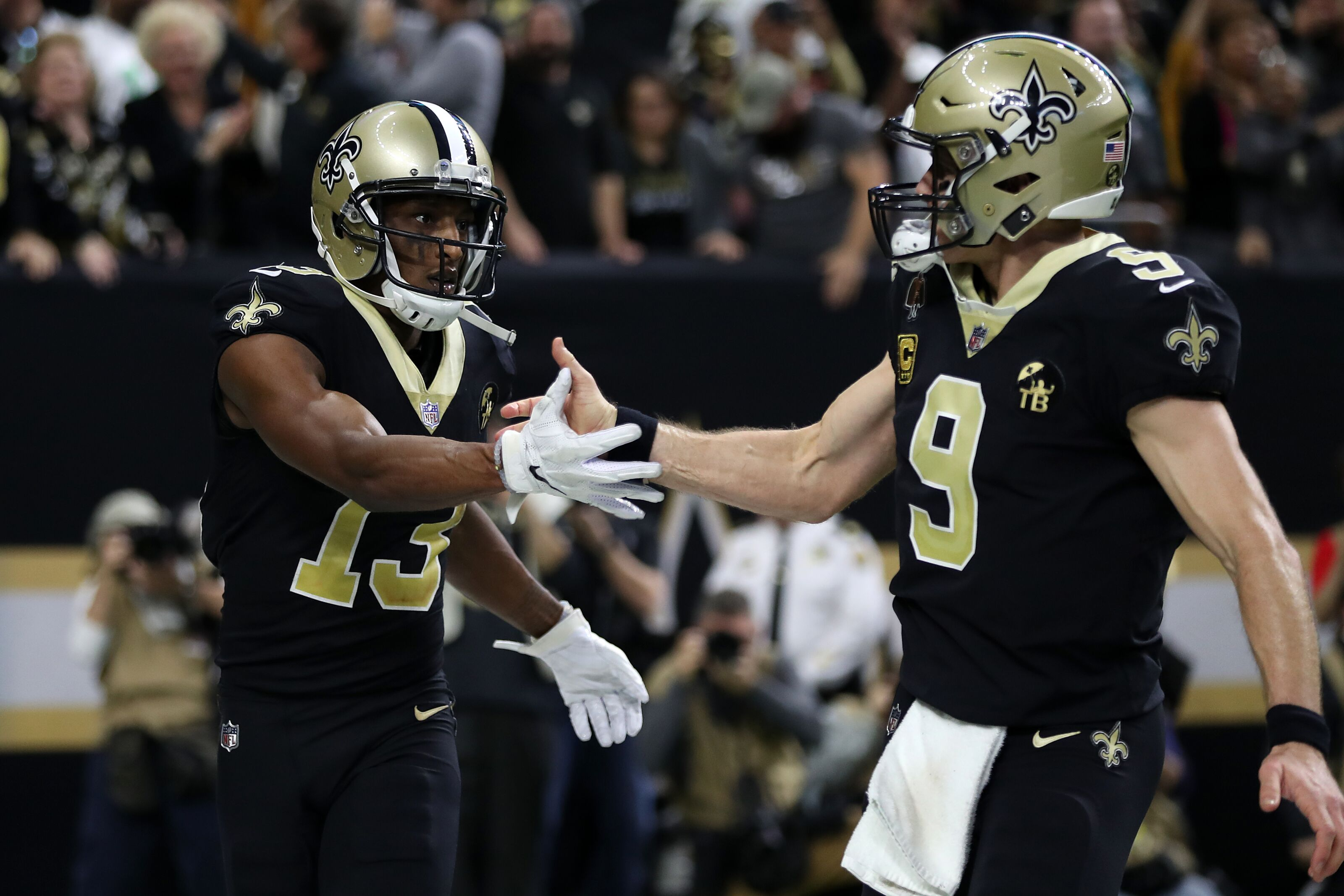 Without help in free agency, assessing the Saints receivers corps