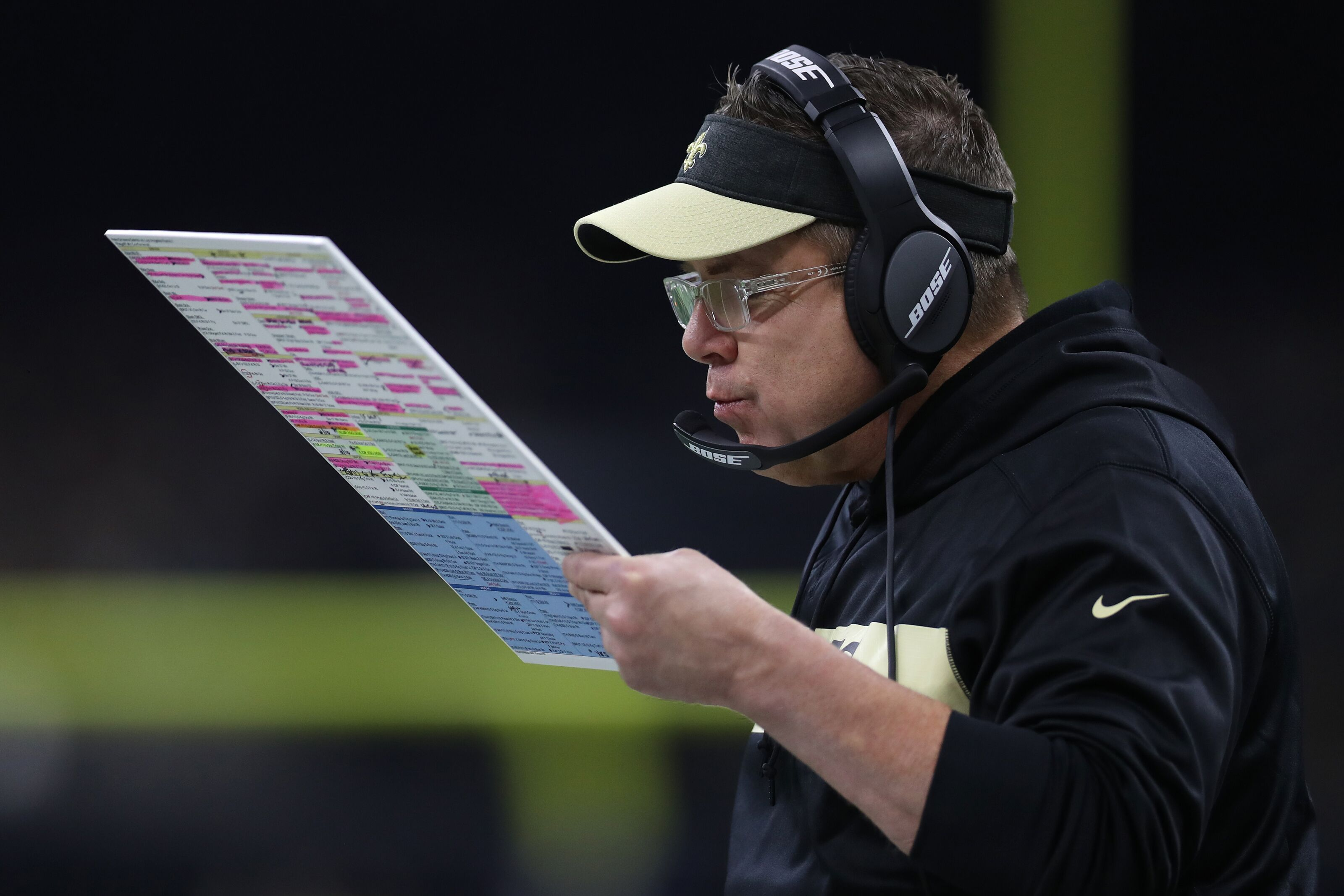 New Orleans Saints: Sean Payton ranked No. 3 in terms of job security
