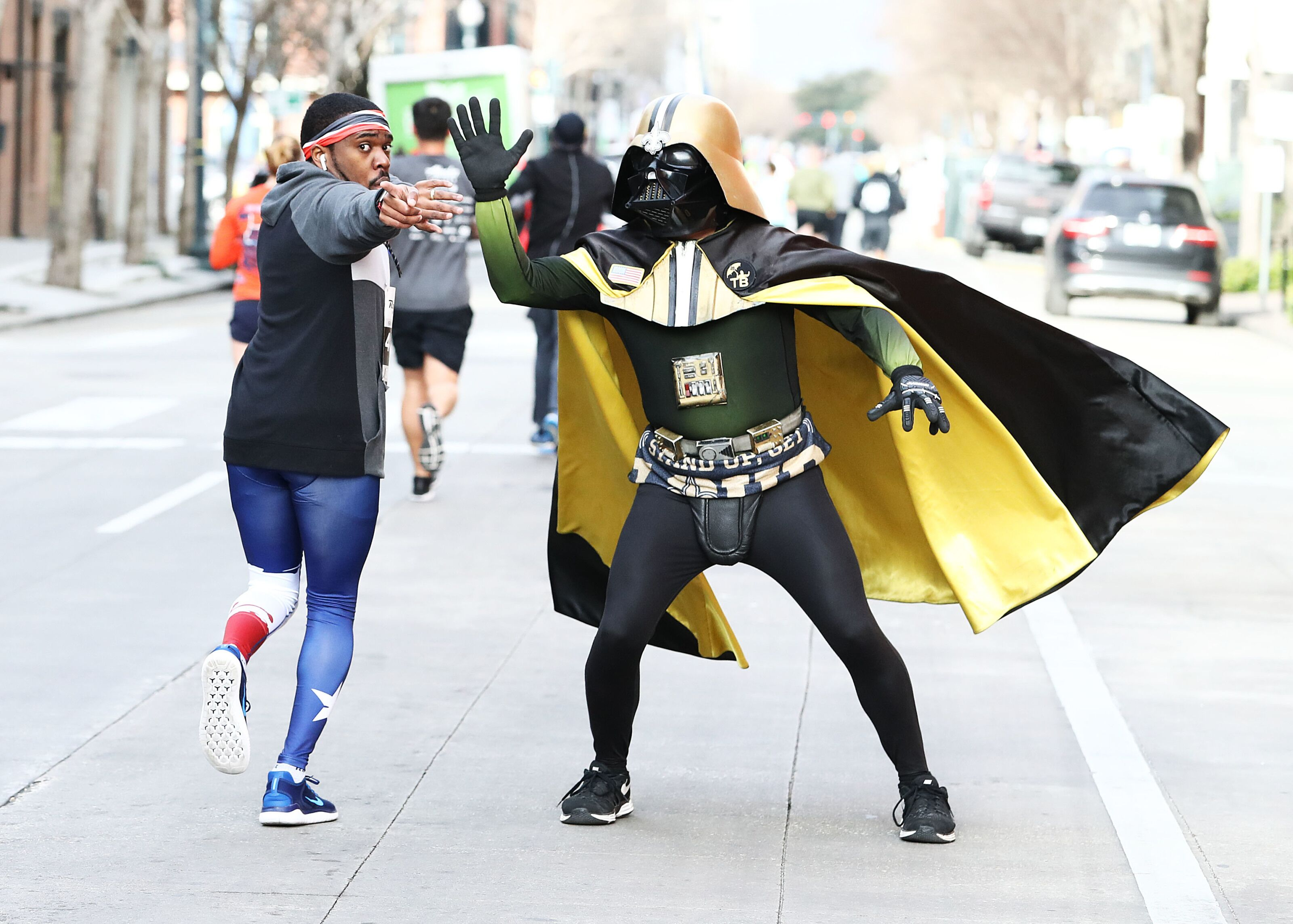 Why does Saints quarterback Drew Brees love Darth Vader so much?