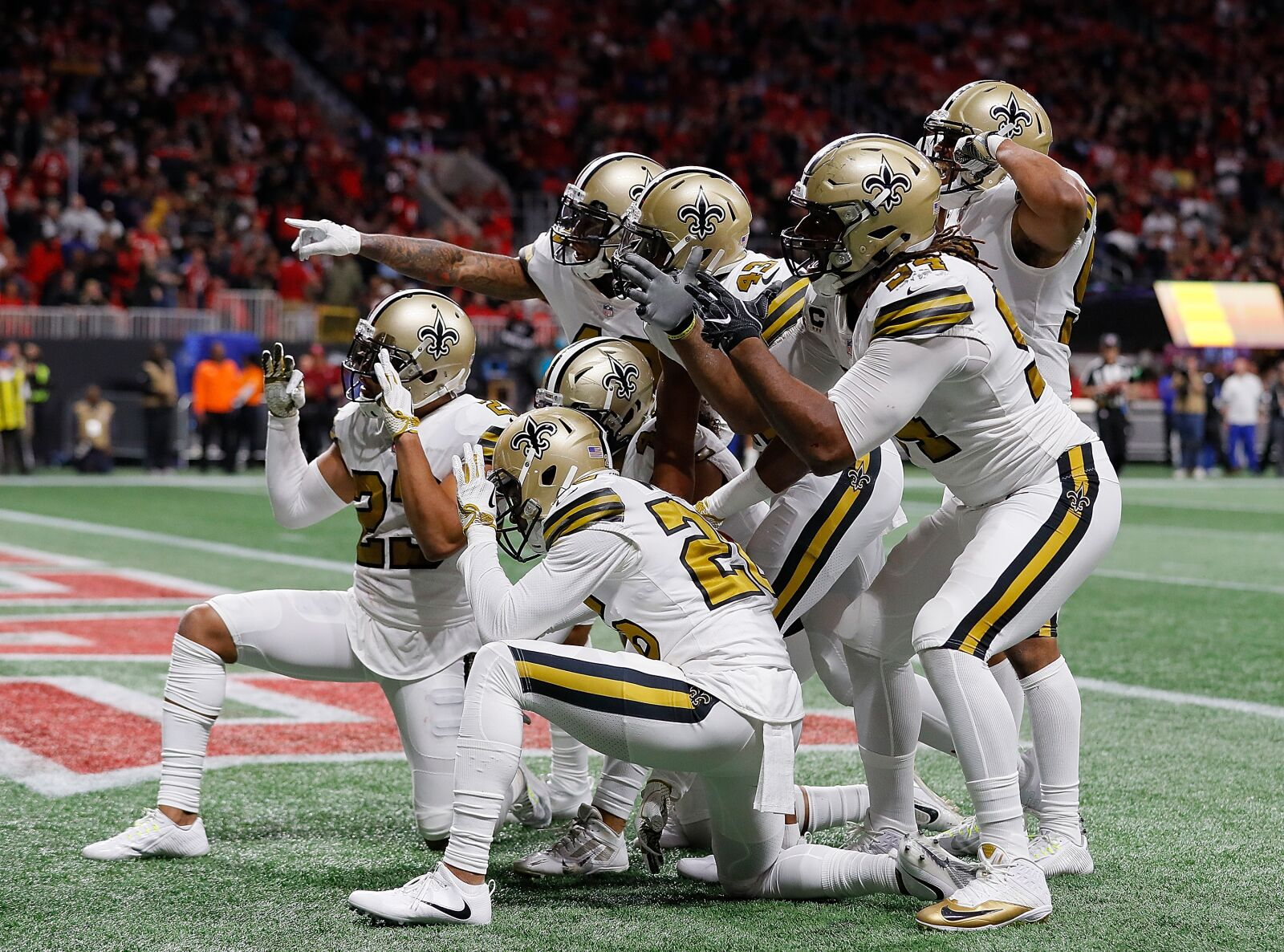 the latest d330b 51ac5 New Orleans Saints: More alternate uniforms for 2018
