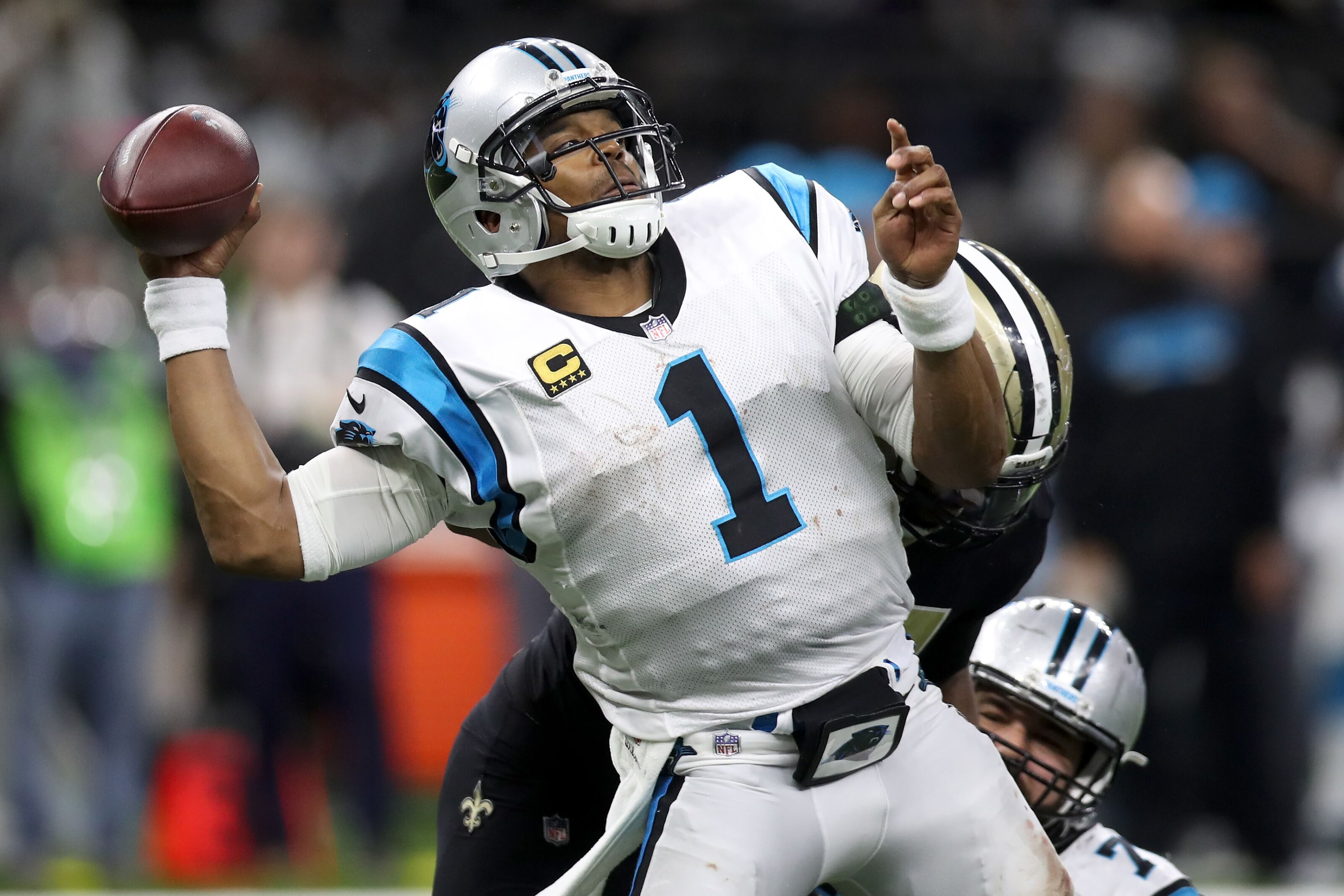 Cameron Jordan and Cam Newton do not like each other