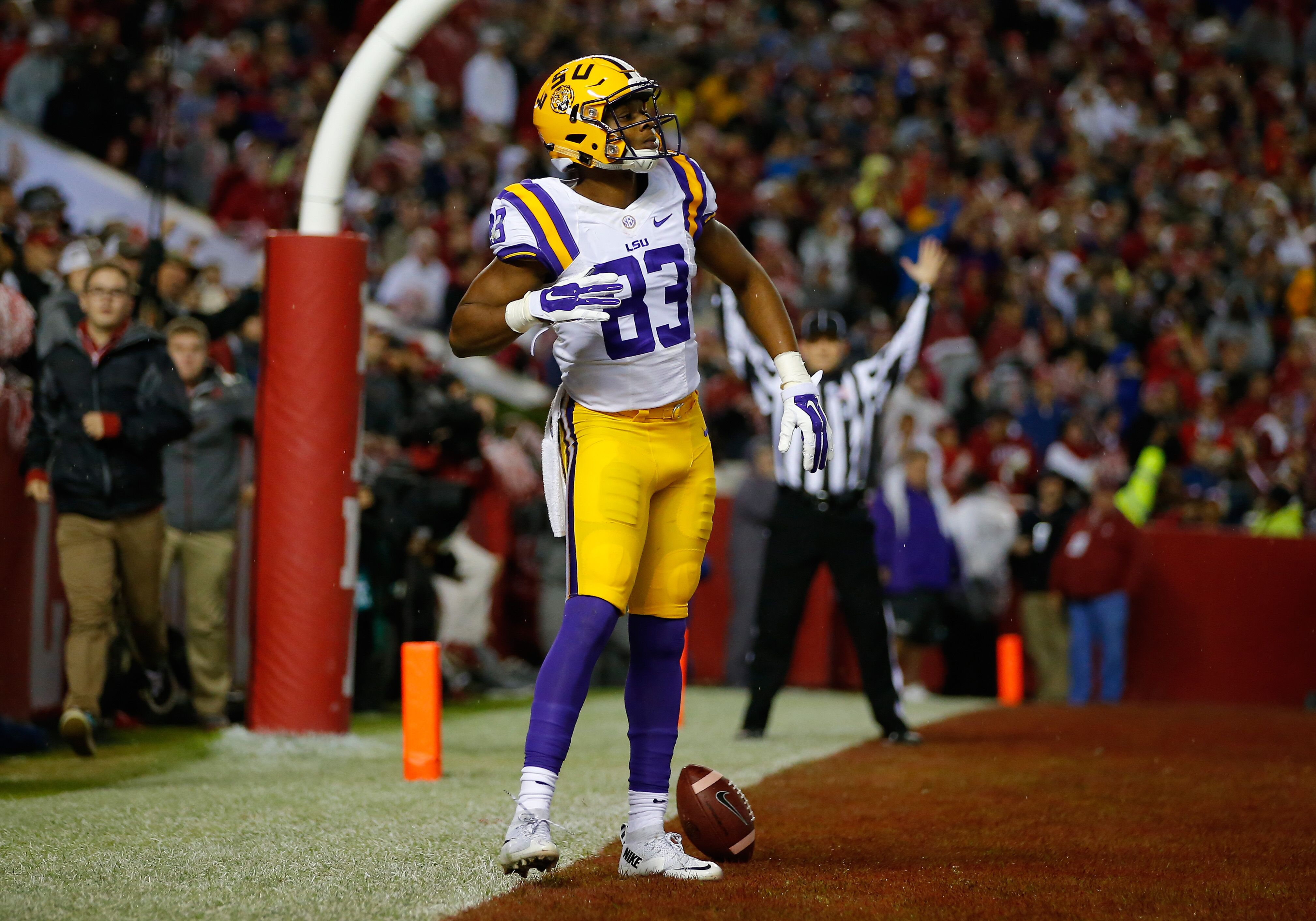 Former Saints and LSU receiver Travin Dural working out with Patriots