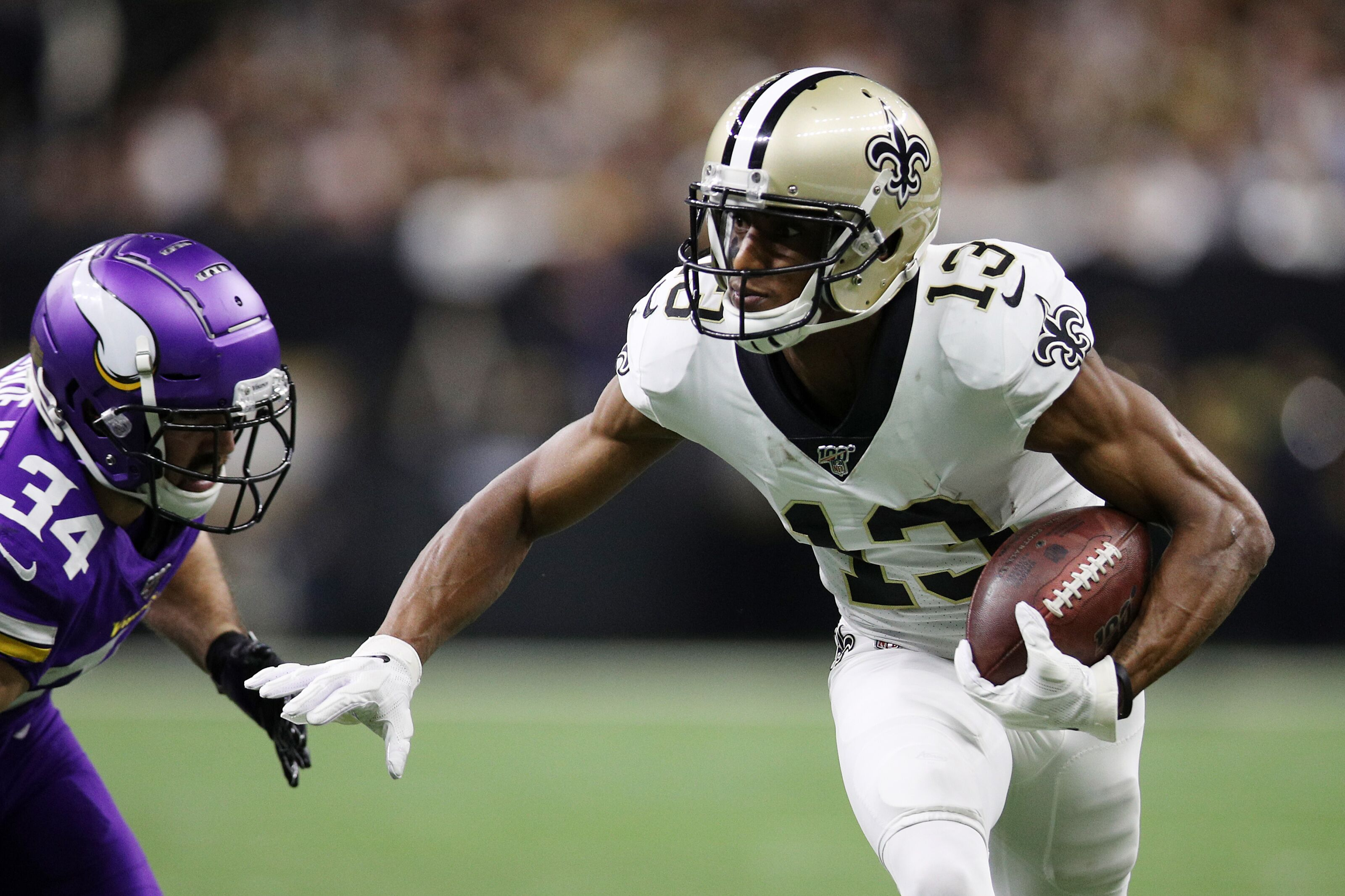 New Orleans Saints' GM doesn't see a wide receiver need