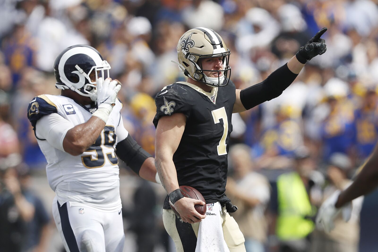 Will Taysom Hill start over Teddy Bridgewater?