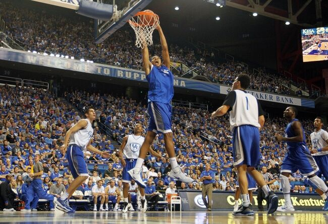 Uk Basketball: Kentucky Basketball: Blue Squad Puts The Blue In The Blue