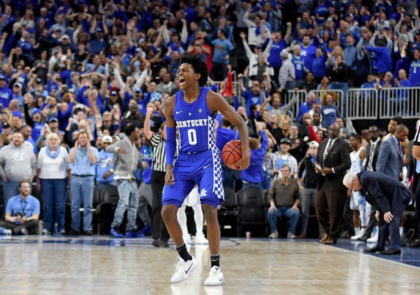 Kentucky Basketball: Fox Named SEC Freshman Of The Week