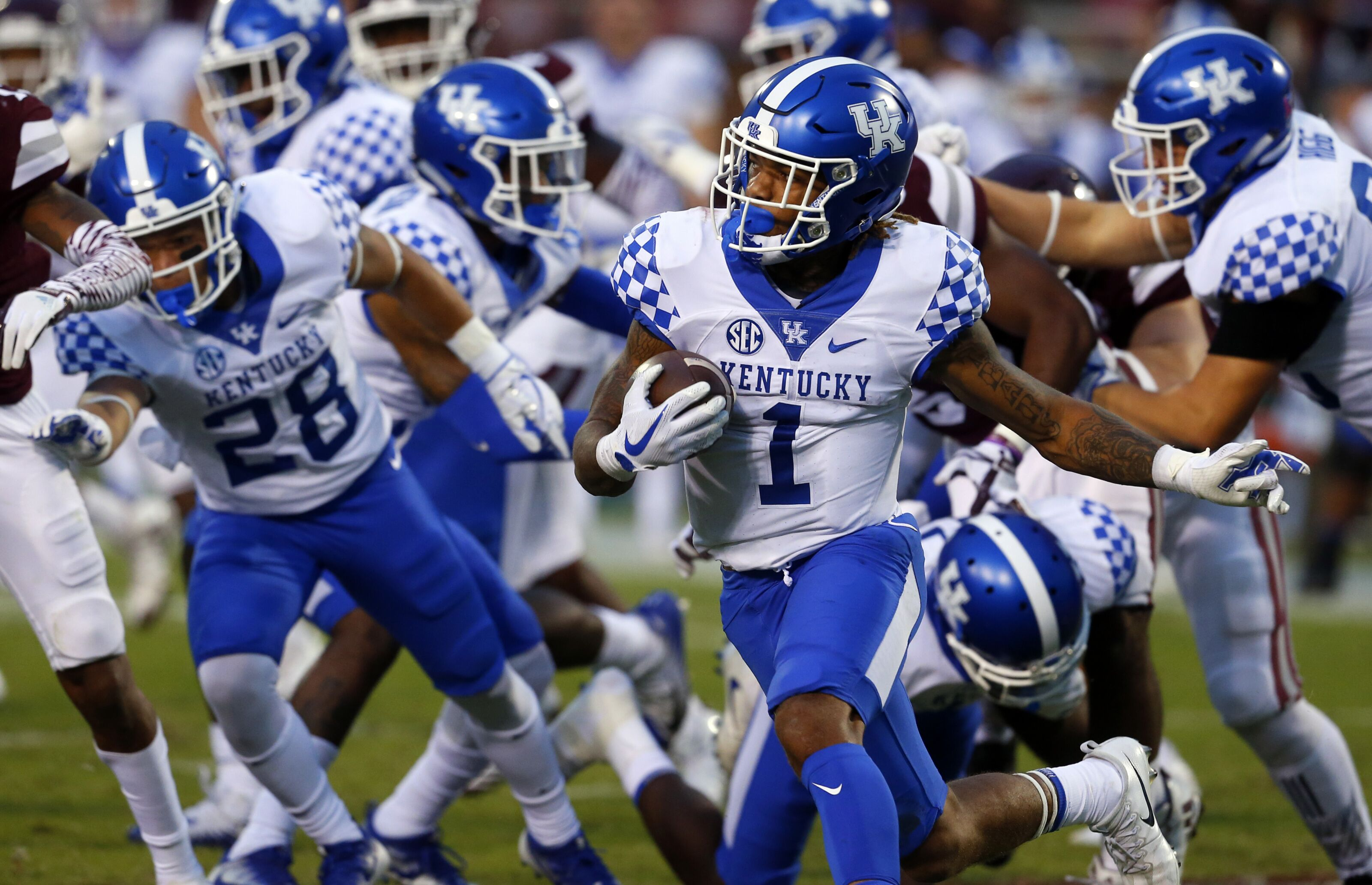 Kentucky Football Mark Stoops SEC Football Media Days