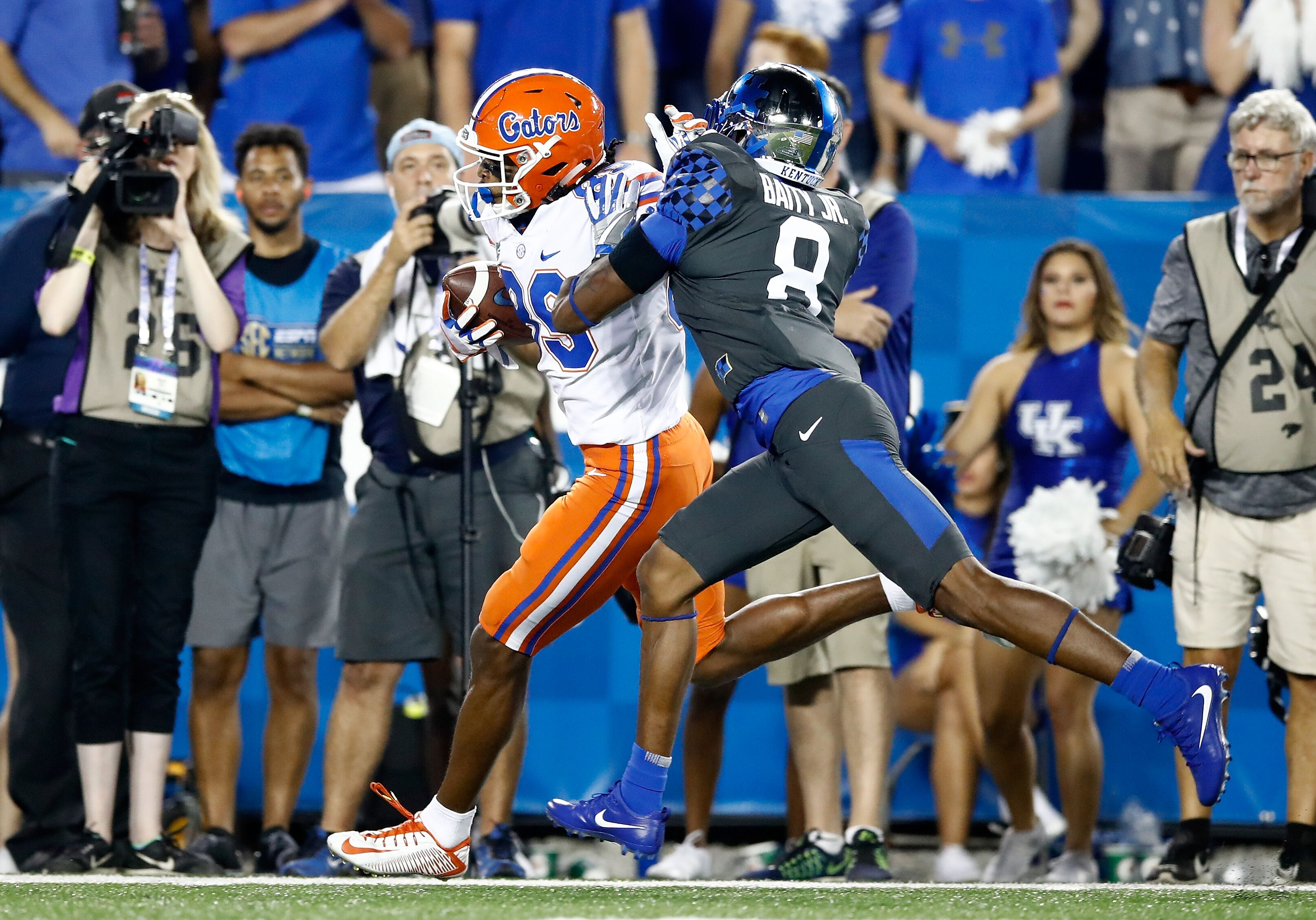 Three Reasons Kentucky Basketball Might Have One Of Its: Kentucky Football: Pros And Cons From Loss To Florida