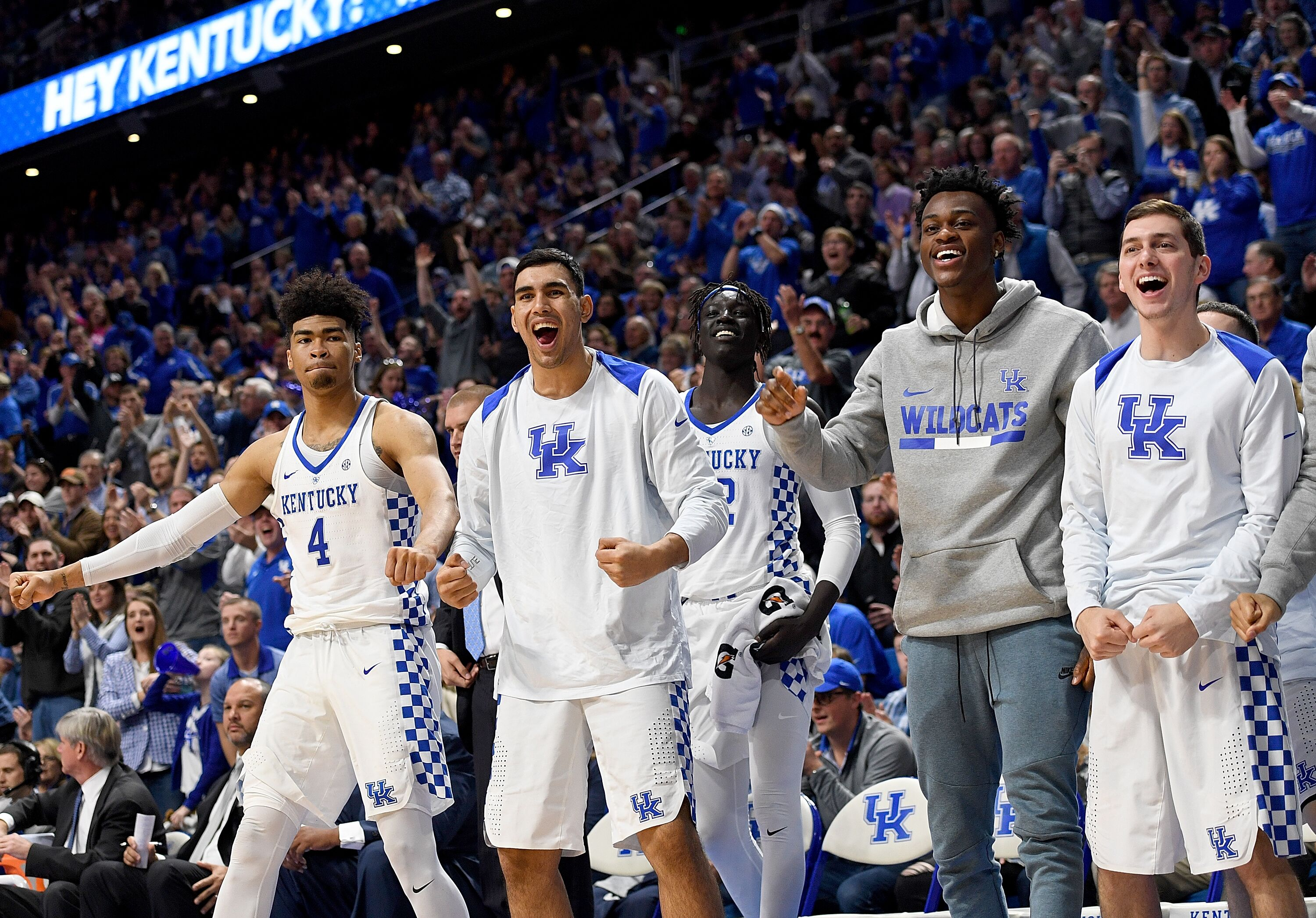 Kentucky Basketball Our First Look At The New Wildcats In: Kentucky Basketball: SEC Men's Basketball Tournament Seed