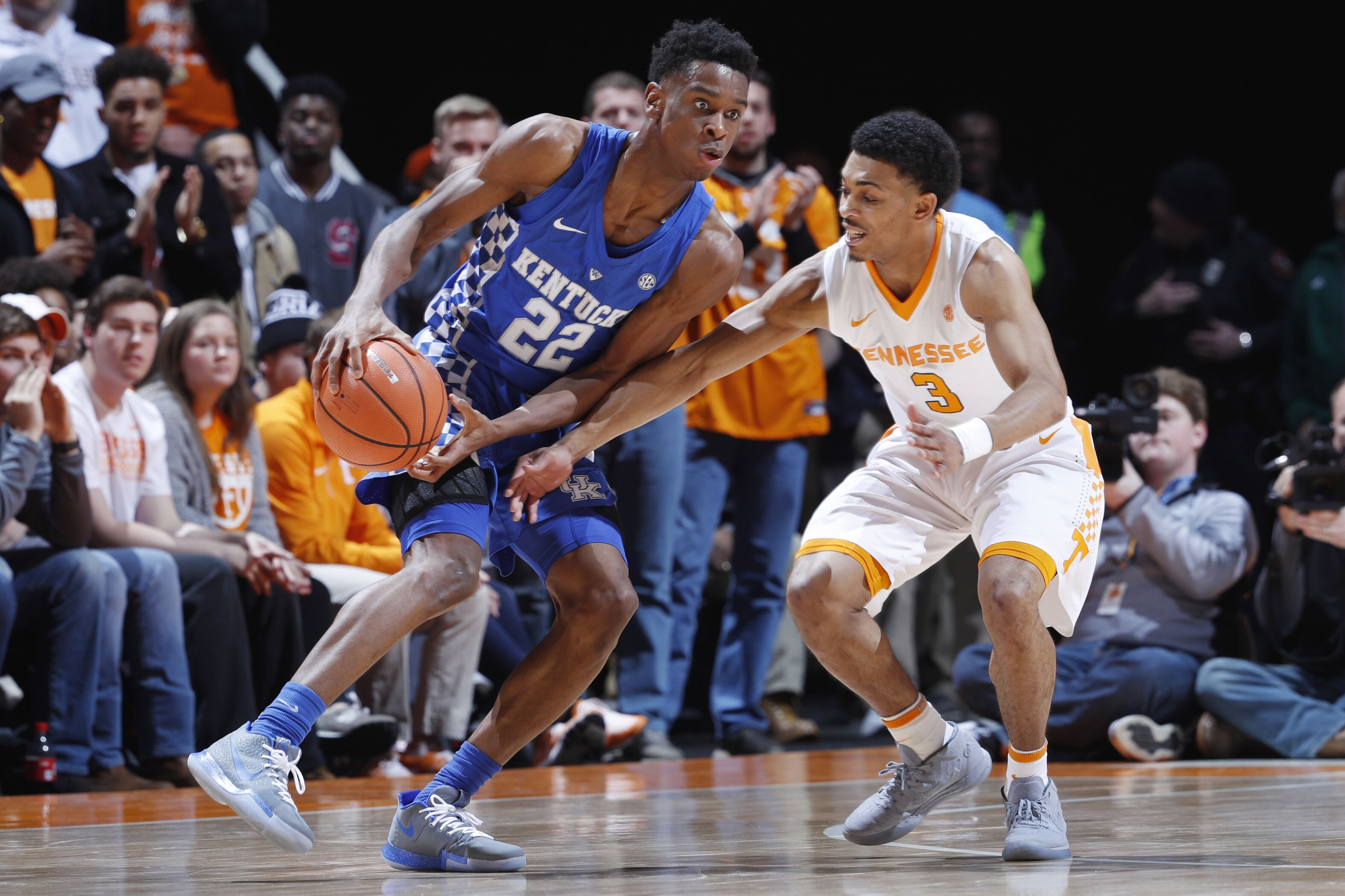 Uk Basketball Uk Vs Tenn: Game Recap: Foul Trouble And Bad Defense Doom Kentucky