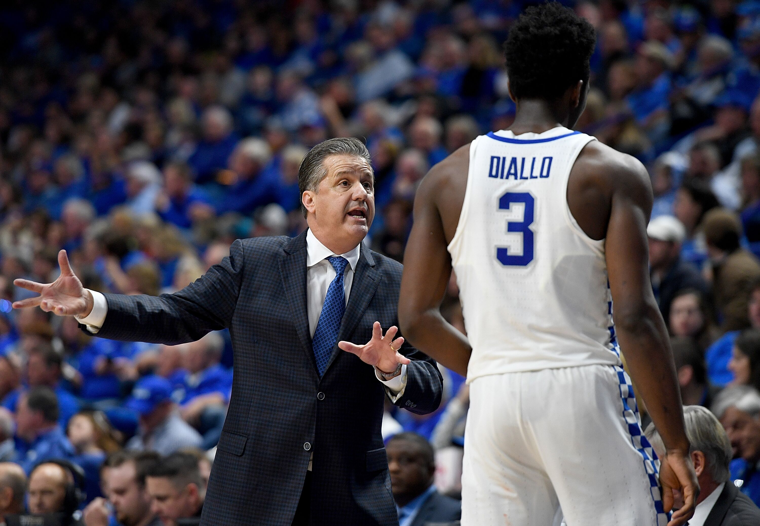 Kentucky Basketball 3 Concerns After Wildcats Home Loss: Calipari's Decisions Are Hurting Diallo And The Kentucky