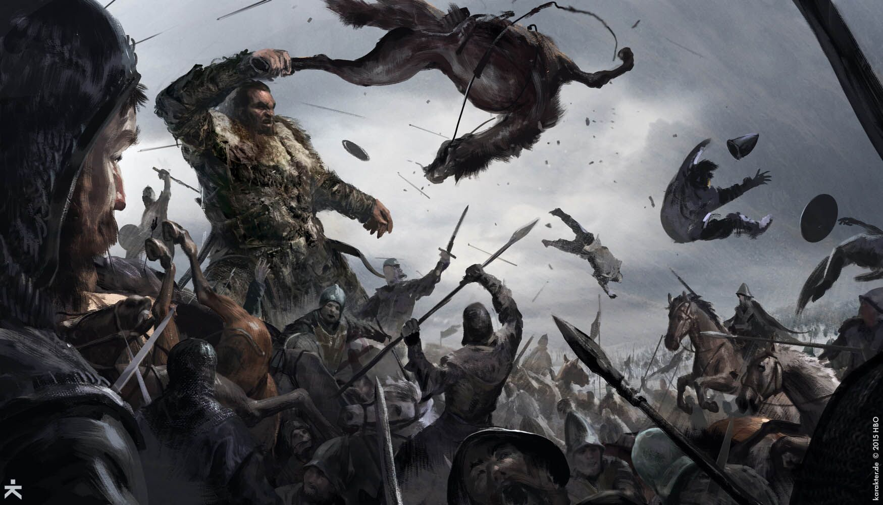 Check out the concept art behind Game of Thrones Season 6 Daario Naharis Game Of Thrones Season 4