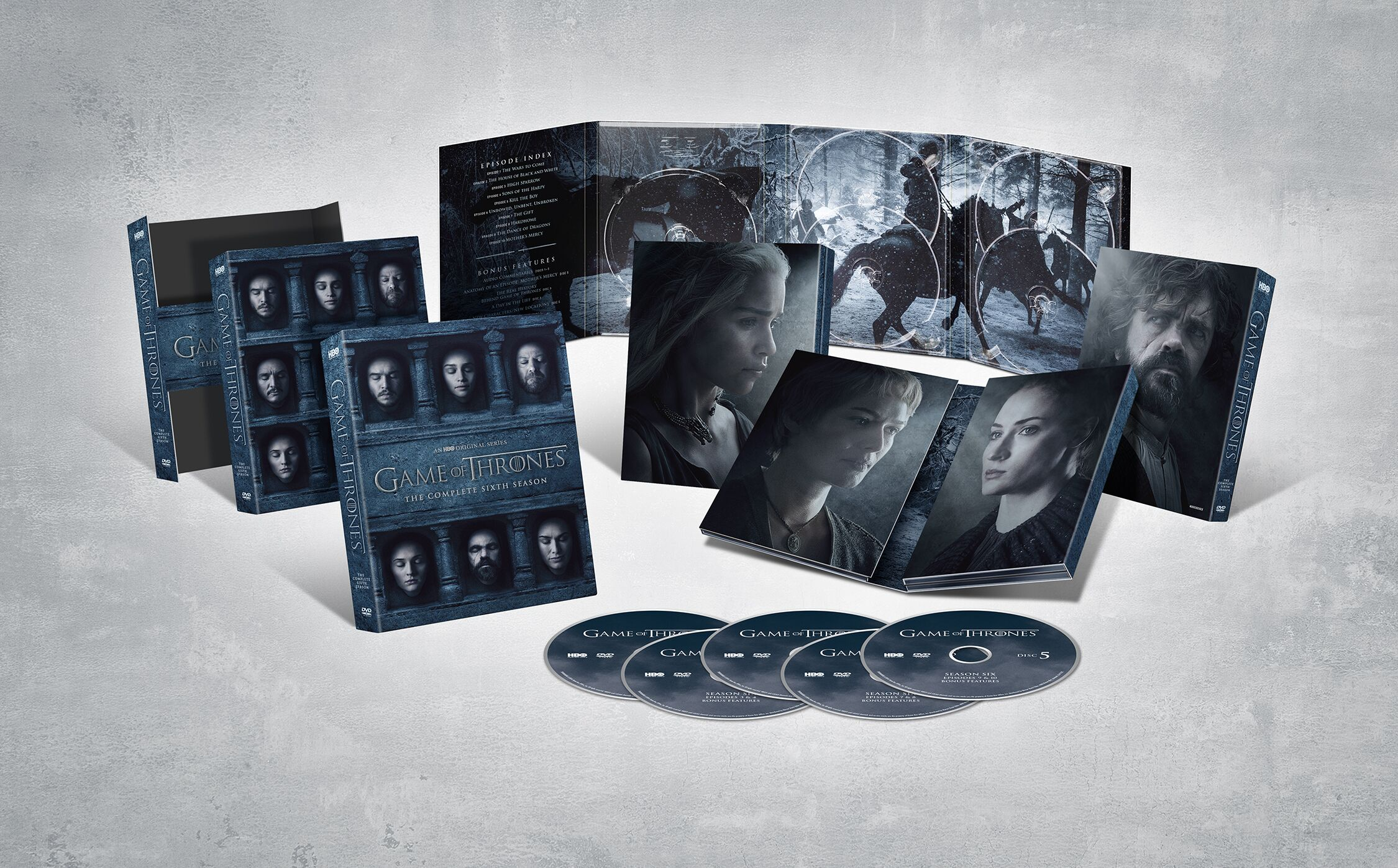A look at the extras on the Game of Thrones Season 6 boxset, dropping November 15