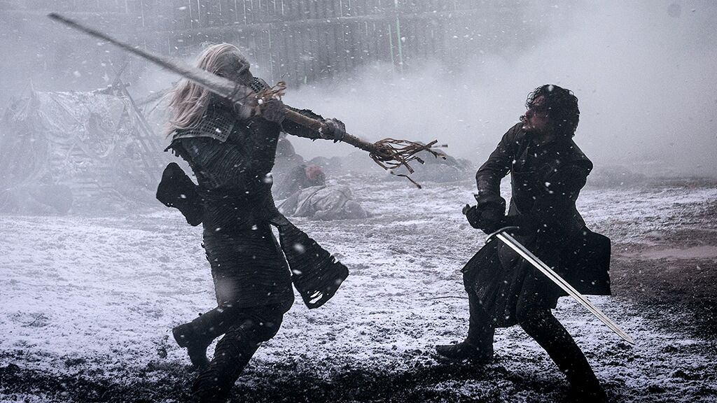Night King actor takes fans behind the scenes of Hardhome, the Battle of Winterfell and more