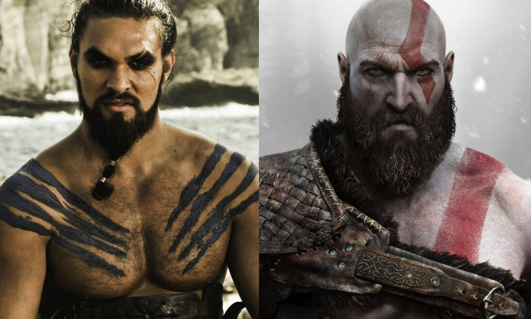 Jason Momoa (Khal Drogo) wants to play Kratos from God of War