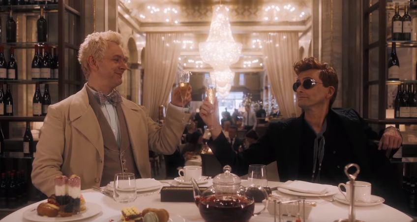 Good Omens gets a release date, Benedict Cumberbatch to play Satan