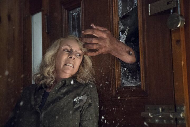 Jamie Lee Curtis shares frightening first look at Halloween Kills